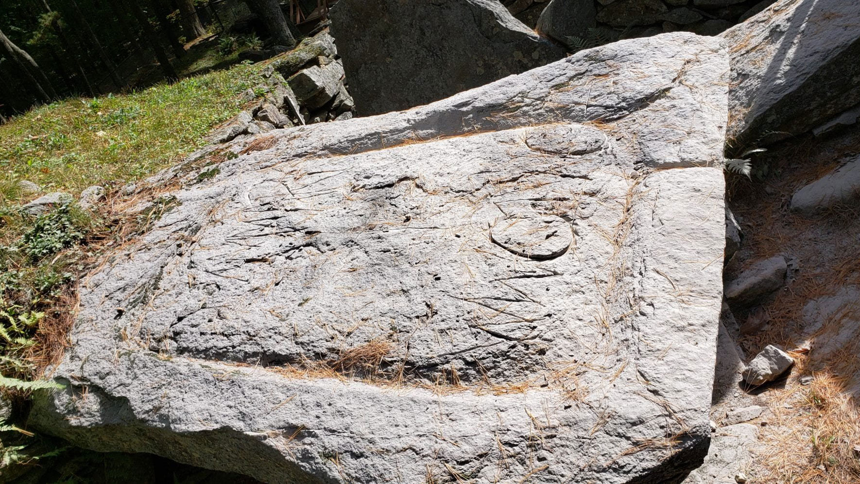 Man arrested after allegedly defacing 'America's Stonehenge' with suspected QAnon-related graffiti