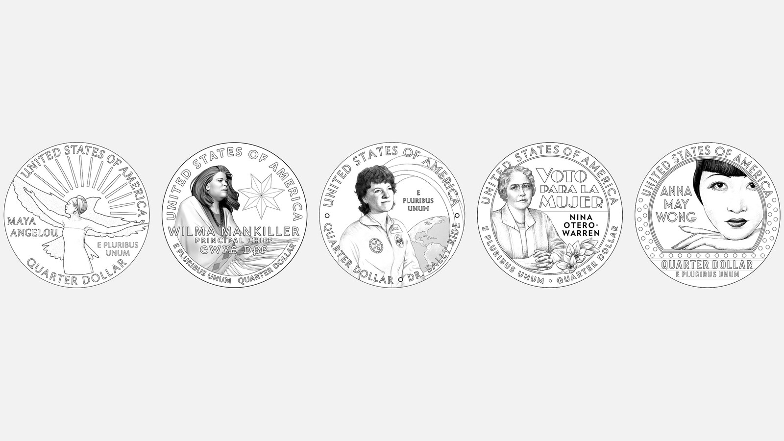 www.wlfi.com: From Maya Angelou to Anna May Wong, these pioneering women will appear on US quarters next year