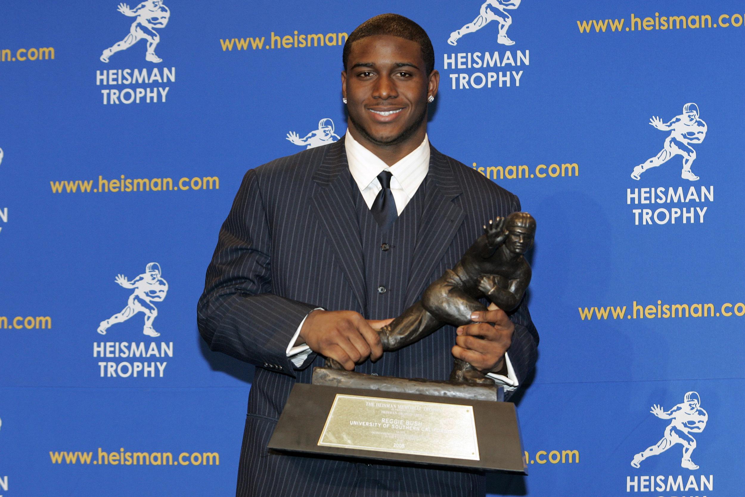 Reggie Bush wants the 2005 Heisman Trophy back