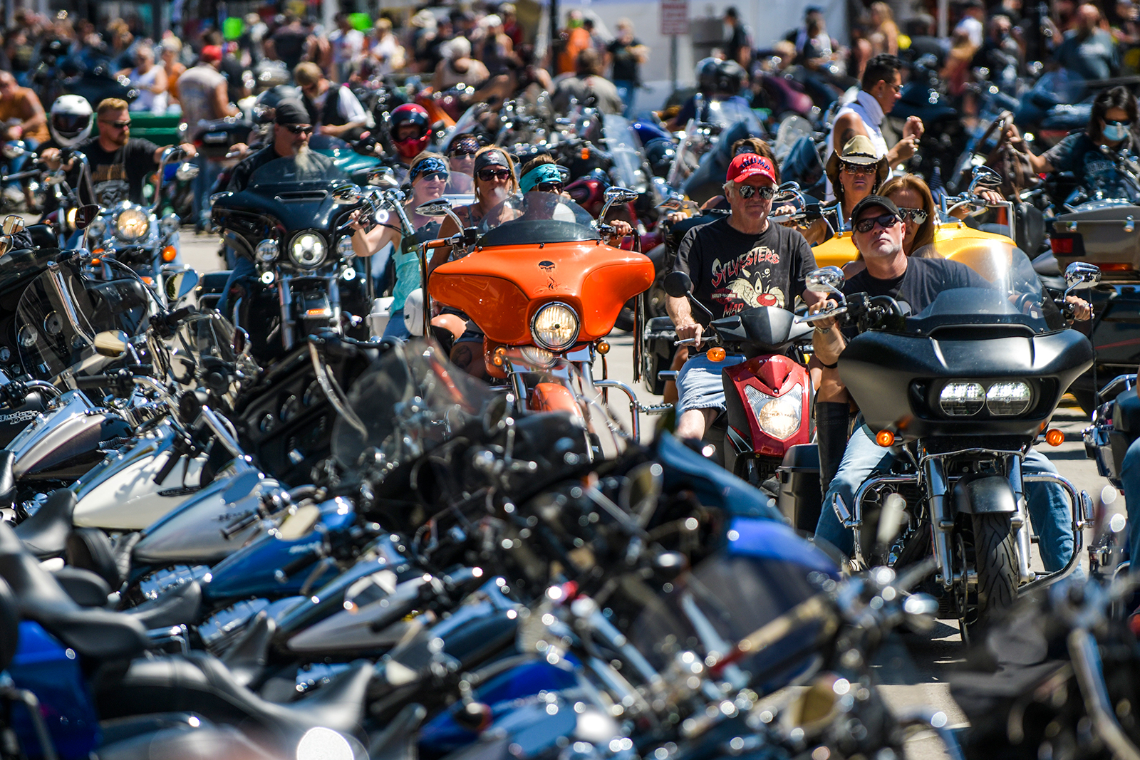 Riders begin to gather in South Dakota for 80th Sturgis Motorcycle Rally