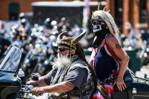 Image for Riders begin to gather in South Dakota for 80th Sturgis Motorcycle Rally