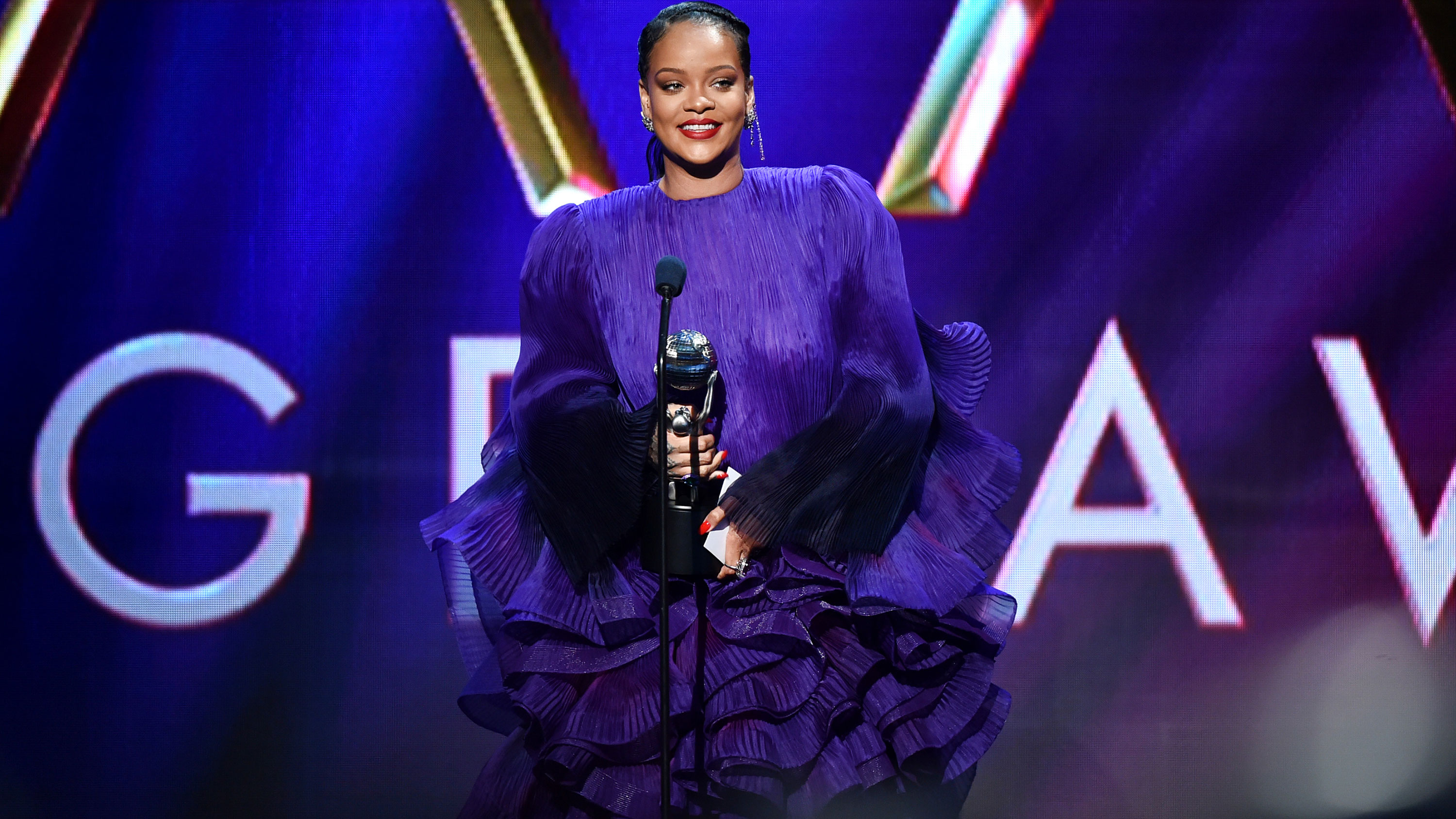 Rihanna calls on friends and allies to 'pull up' during powerful speech at 2020 NAACP Image Awards
