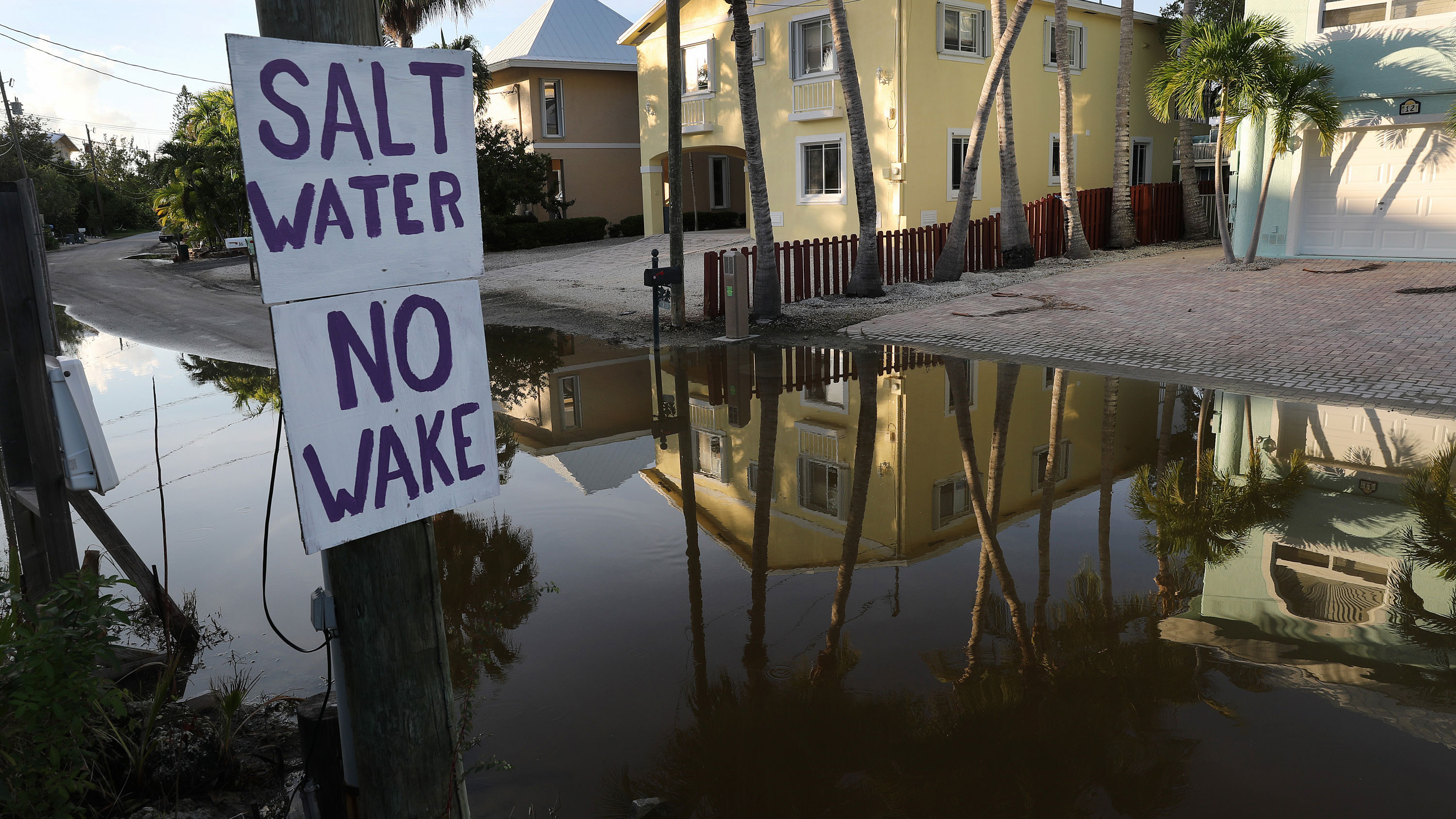 Climate scientists say building collapse is a 'wake-up call' about the potential impact of rising seas