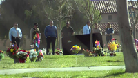 Three men are killed at a cemetery in Southern California. Police work to dispel rumors of a serial killer