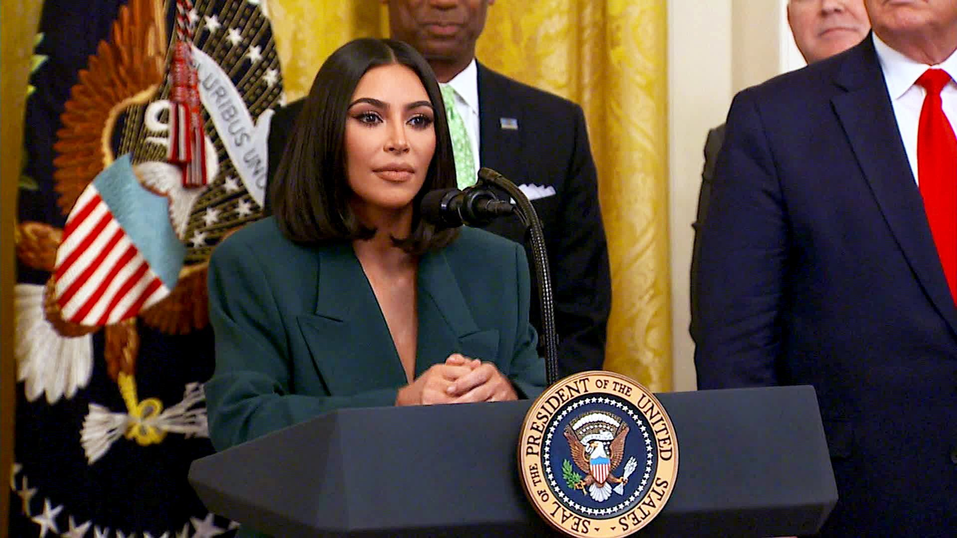 When Rodney Reed's execution was delayed, Kim Kardashian West says she was with him