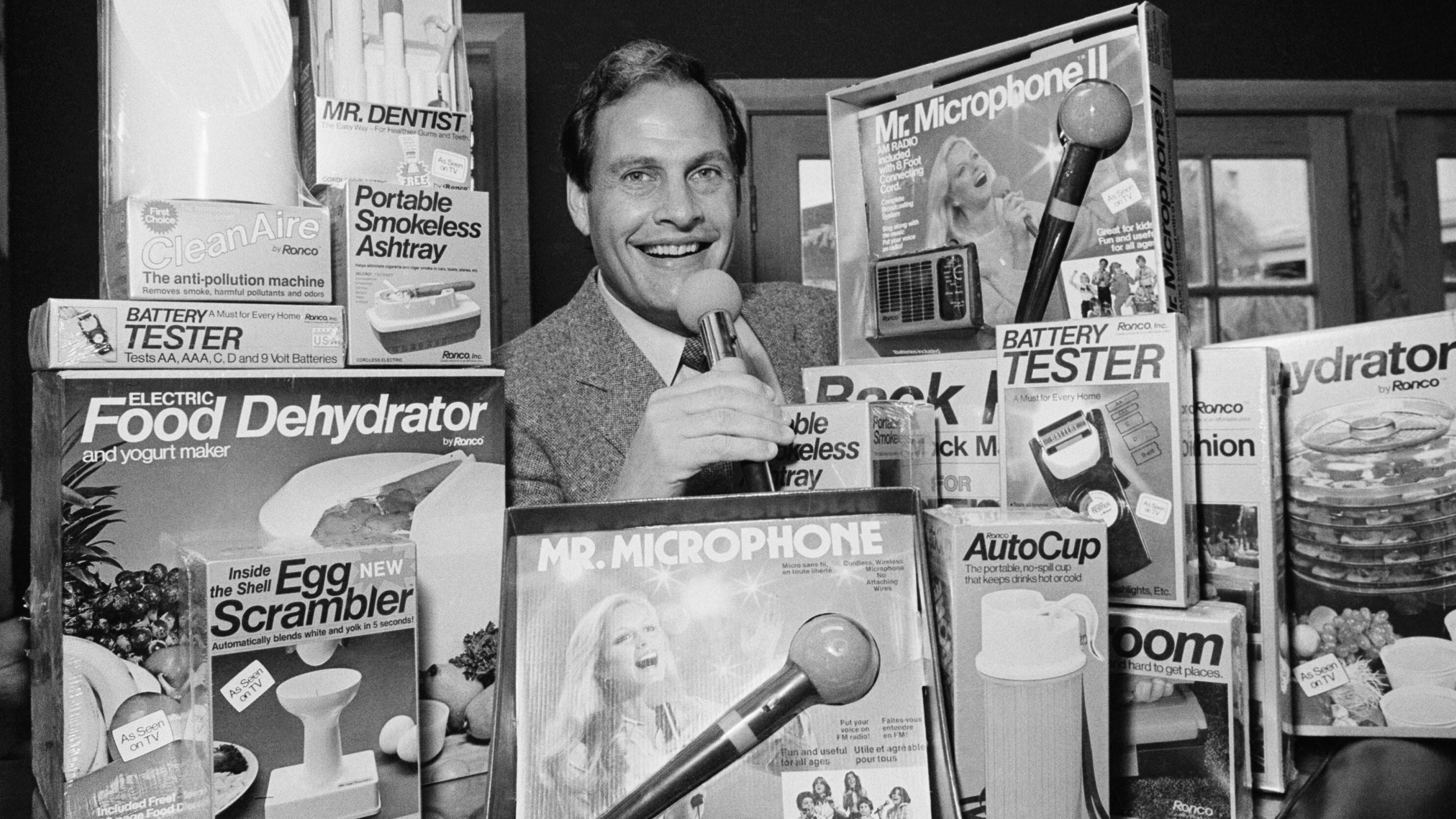 Pioneering TV pitchman Ron Popeil dies at age 86