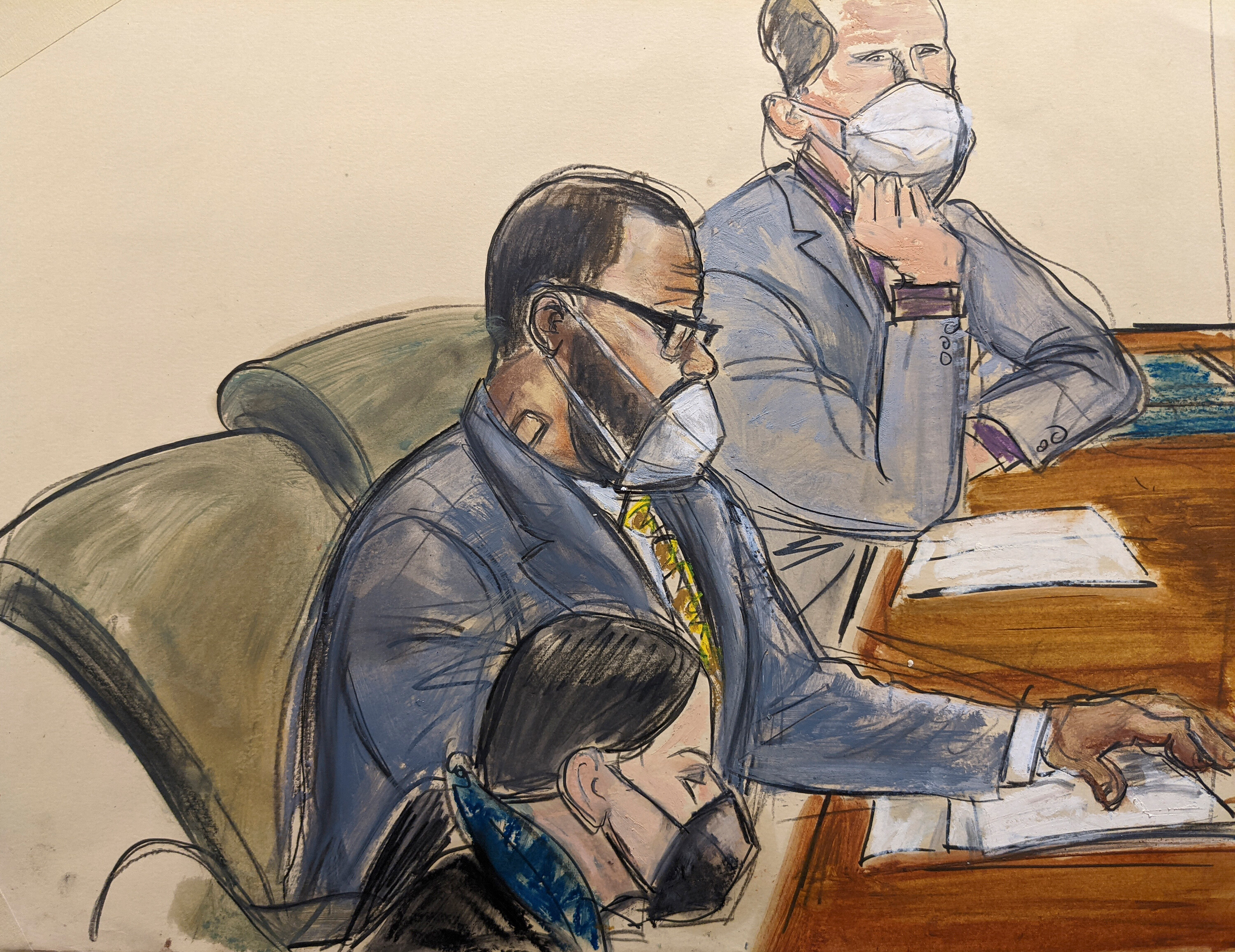 Jurors in R. Kelly federal trial are done for the day after deliberating for about four hours