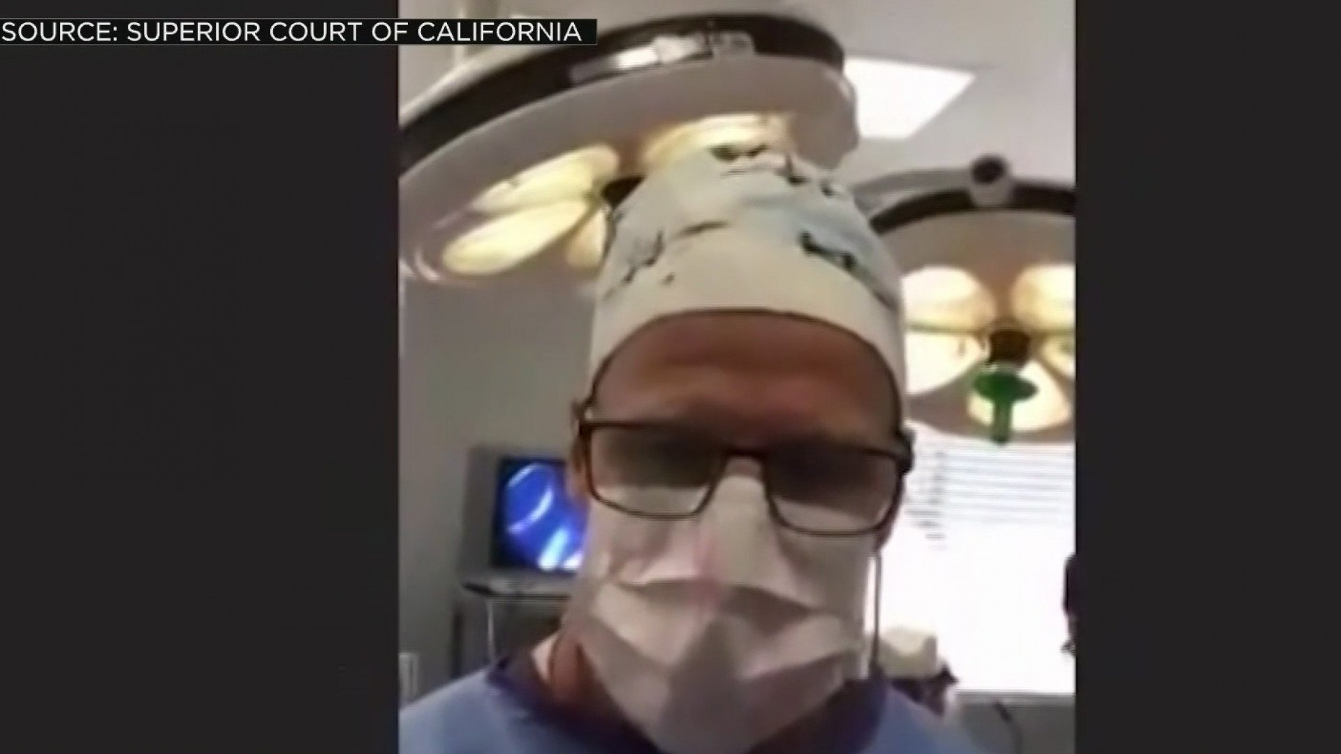A California doctor performed surgery during a Zoom court appearance