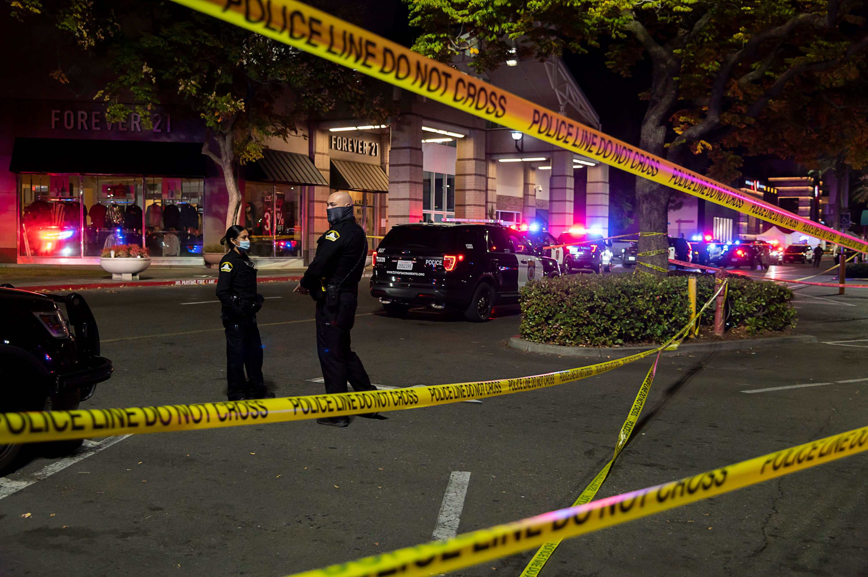 A suspect in Friday's deadly Sacramento mall shooting has been arrested, police say