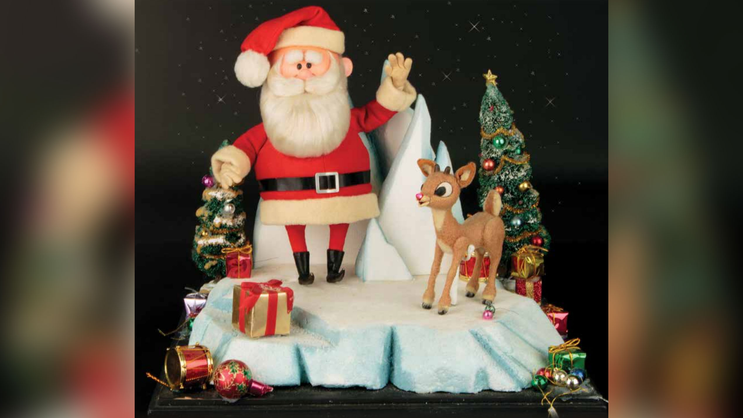 The original puppets from 'Rudolph the Red-Nosed Reindeer' are going up for auction