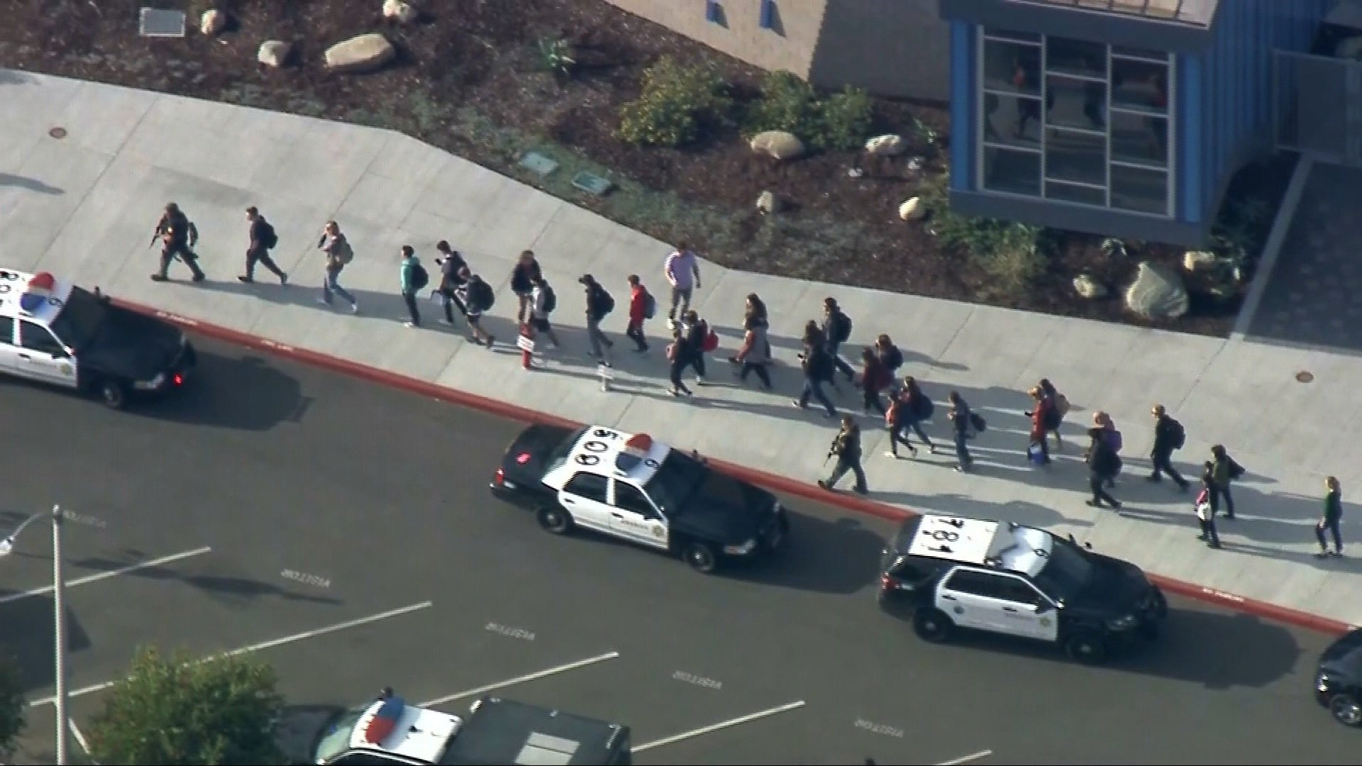 After Parkland, Saugus High students walked out to protest school shootings. Today, their school was the target