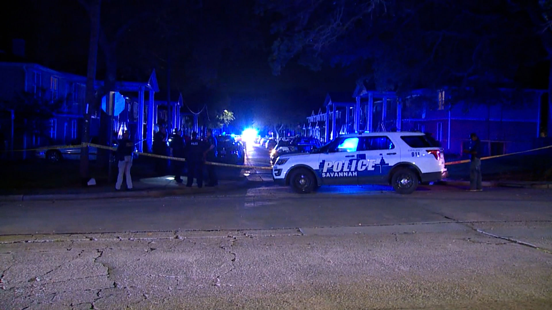 1 killed, 7 others wounded in a shooting in Savannah, police say