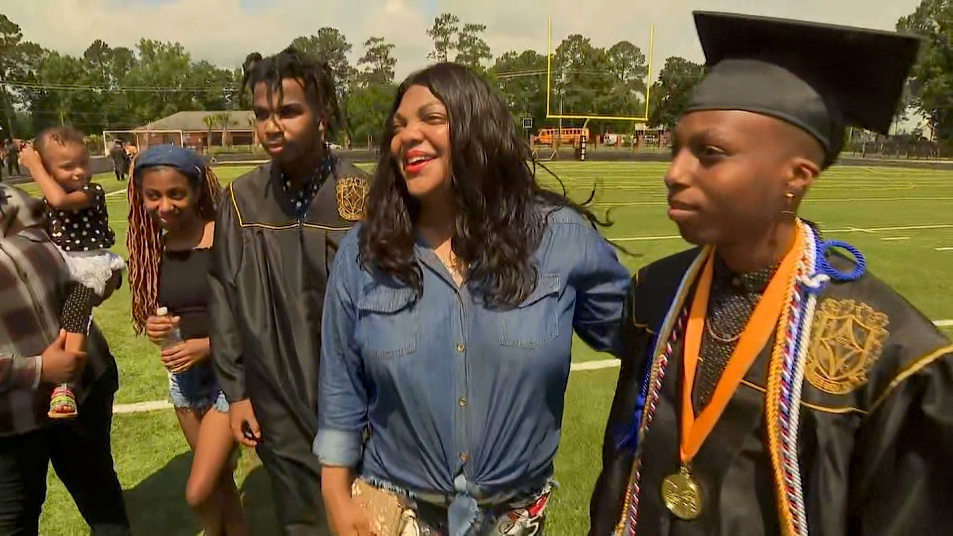 High school seniors breathe a sigh of relief that they made it to graduation. But school administrators fear the fall semester