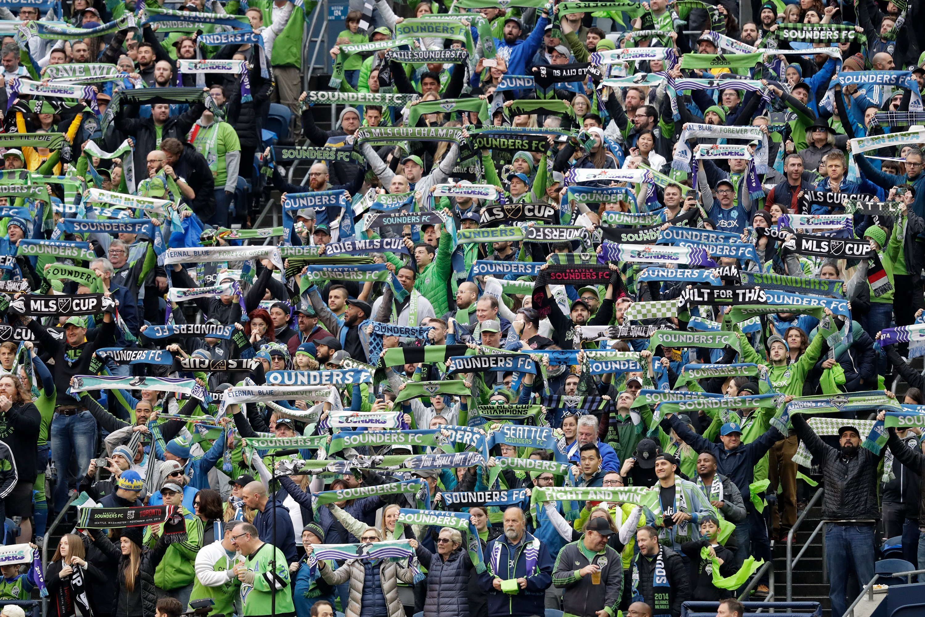Each time Seattle scored in the MLS Cup final, the fans' reaction registered on earthquake measuring devices