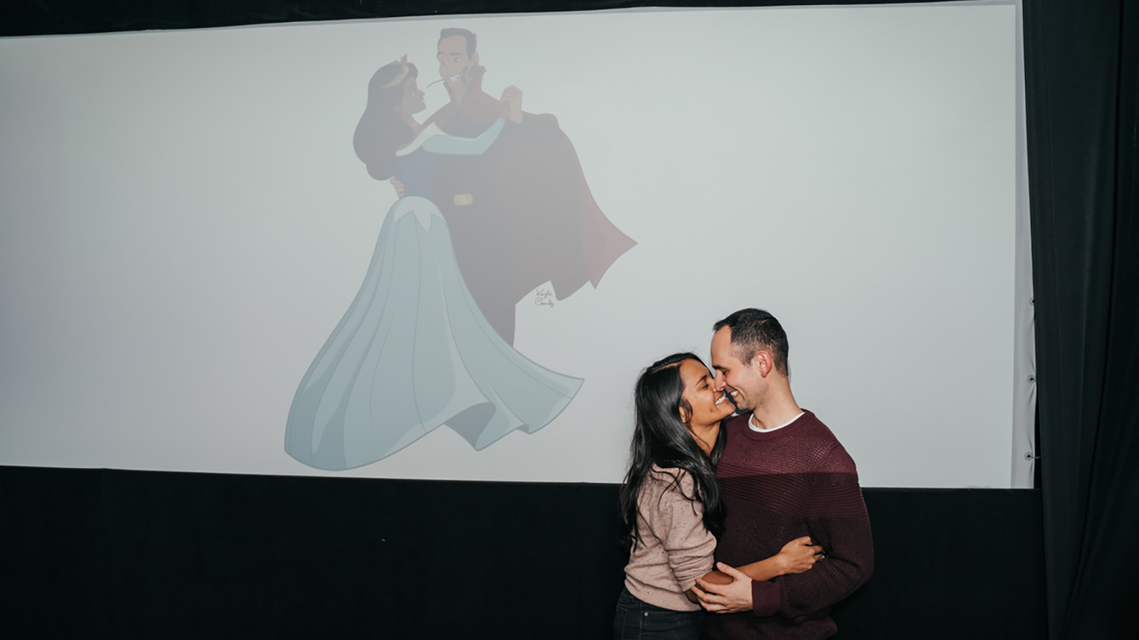 A man re-animated 'Sleeping Beauty' to create an unforgettable wedding proposal