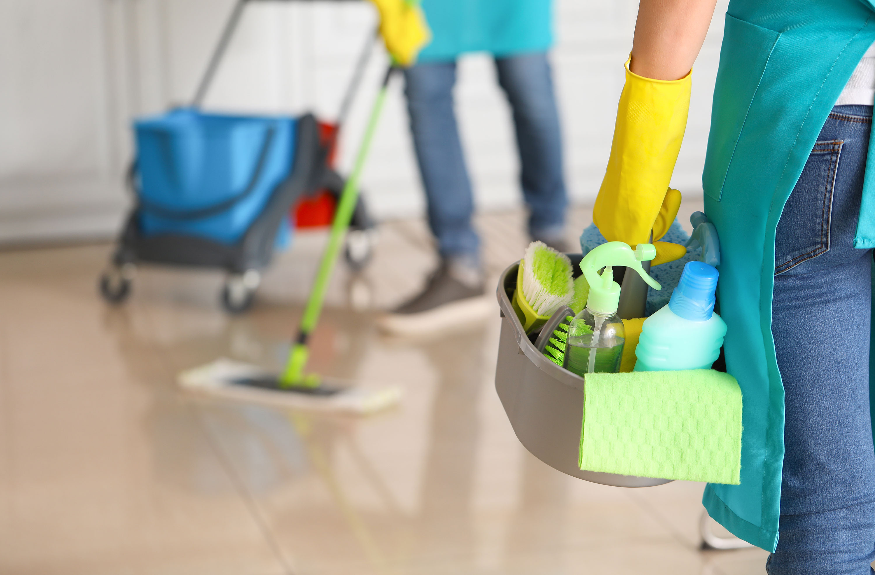 The coronavirus pandemic has been catastrophic for house cleaners and nannies