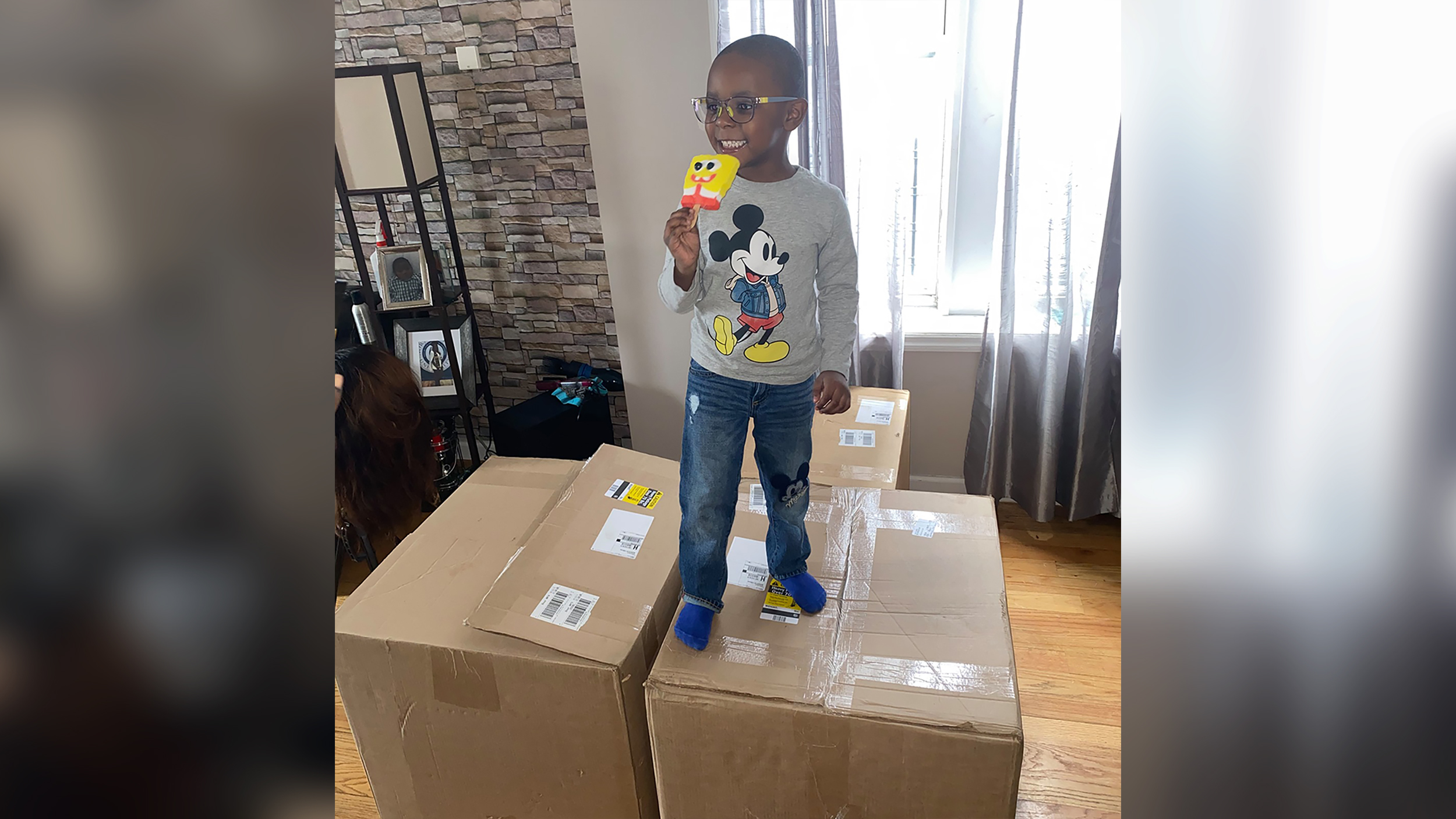 4-year-old hacks mom's Amazon Prime account and orders 51 boxes of SpongeBob SquarePants Popsicles
