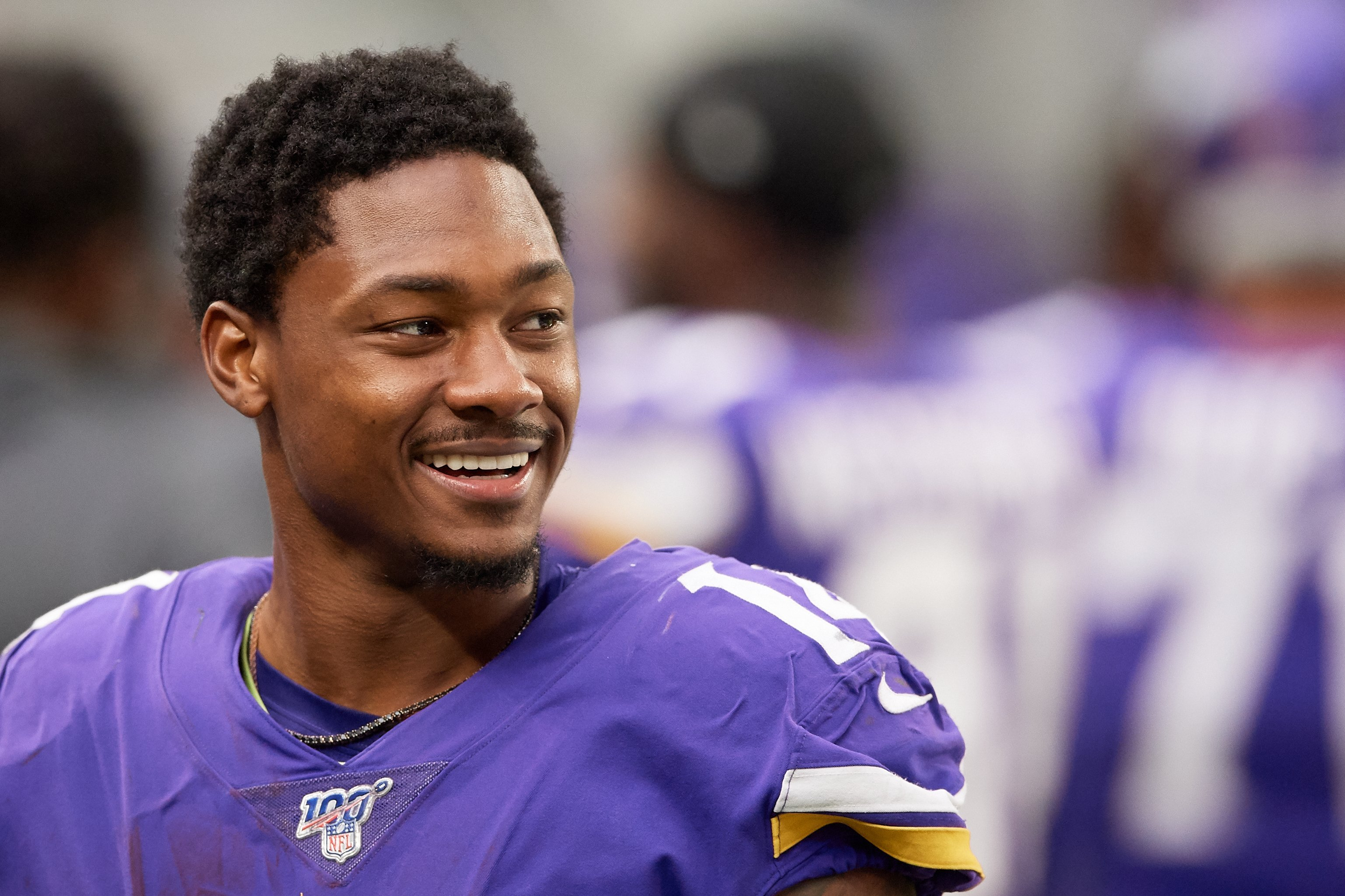 Vikings receiver Stefon Diggs channels his inner villain with custom 'Joker' cleats
