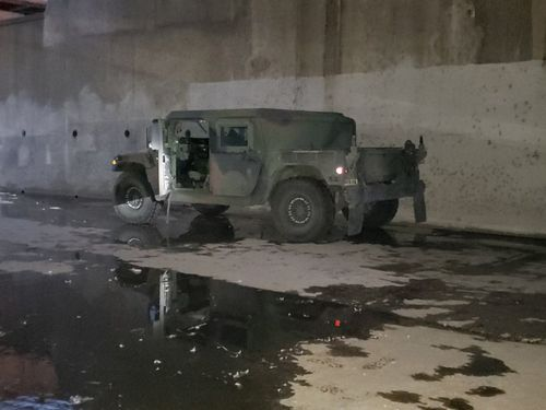Image for Humvee recovered after being stolen from military facility