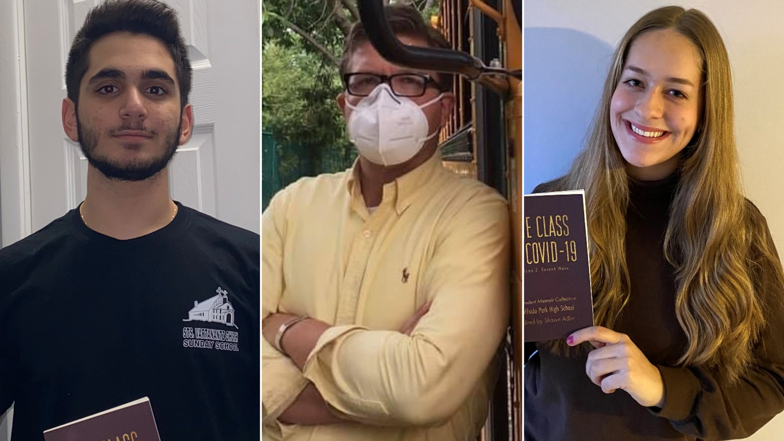 These high schoolers turned their tough experiences during the pandemic into powerful memoirs