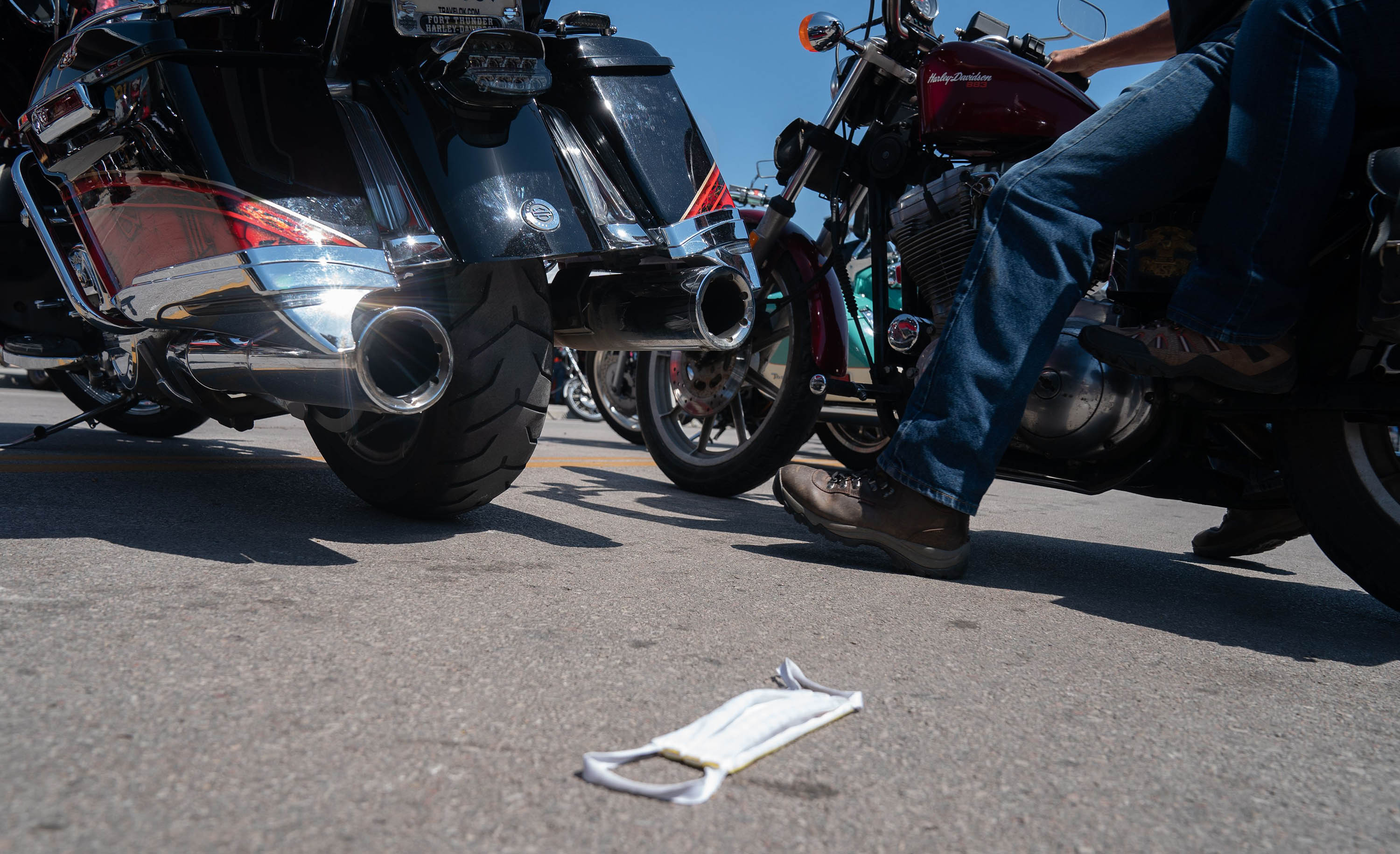 Experts feared the Sturgis Motorcycle Rally could be a superspreading event. More than 70 coronavirus cases are already linked to it
