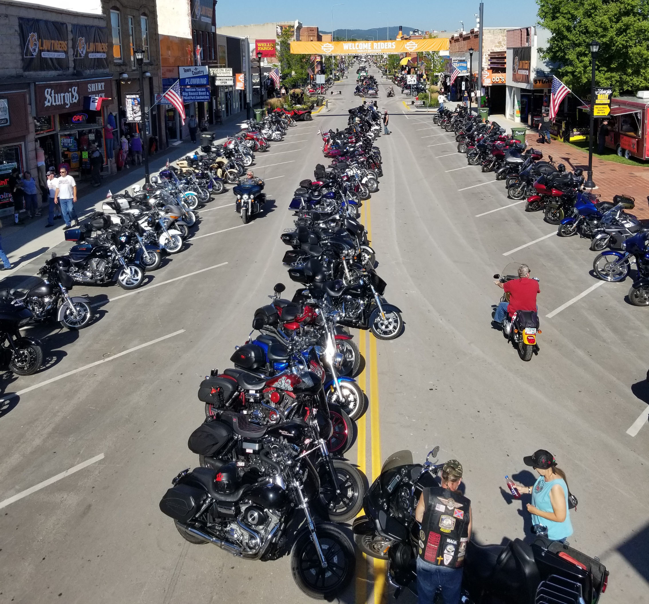 A motorcycle rally that brings tens of thousands of tourists to a small South Dakota city is about to begin