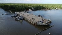 A sunken barge might have saved these Louisiana towns from major flooding