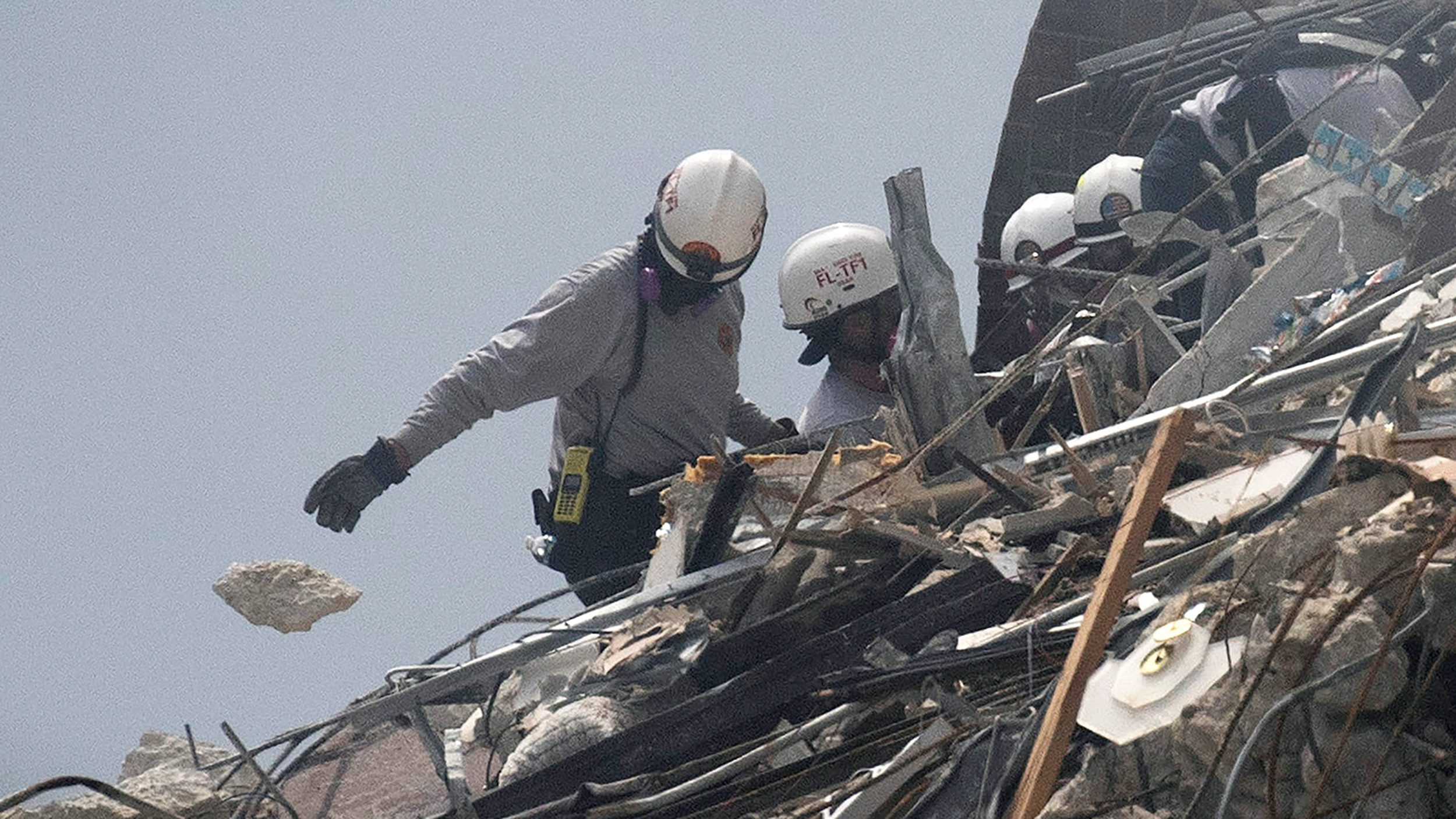 These are the challenges rescuers at the collapsed building in Surfside are facing