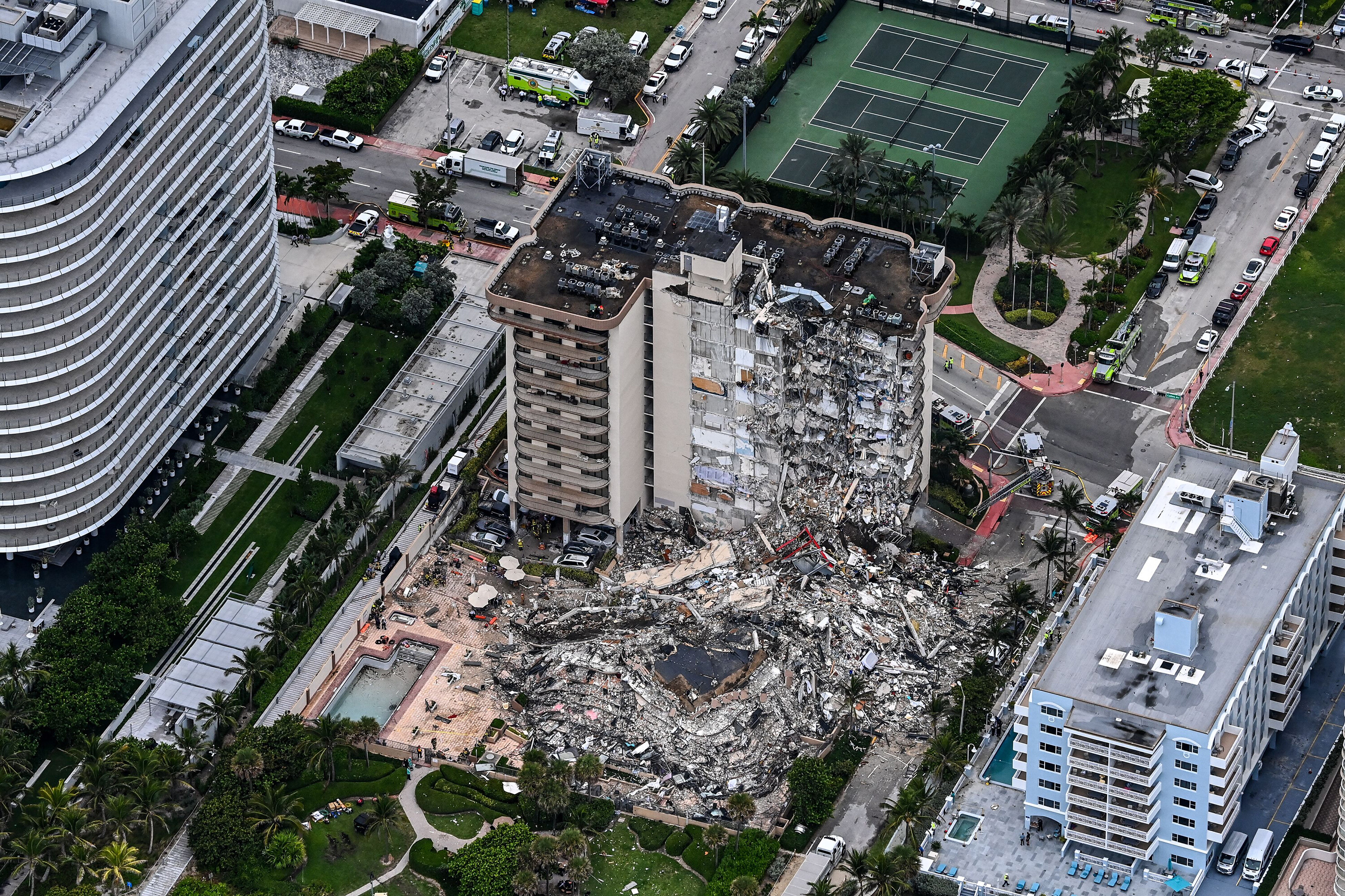 Miami-Dade leaders announce a series of meetings for policy changes after the Surfside collapse