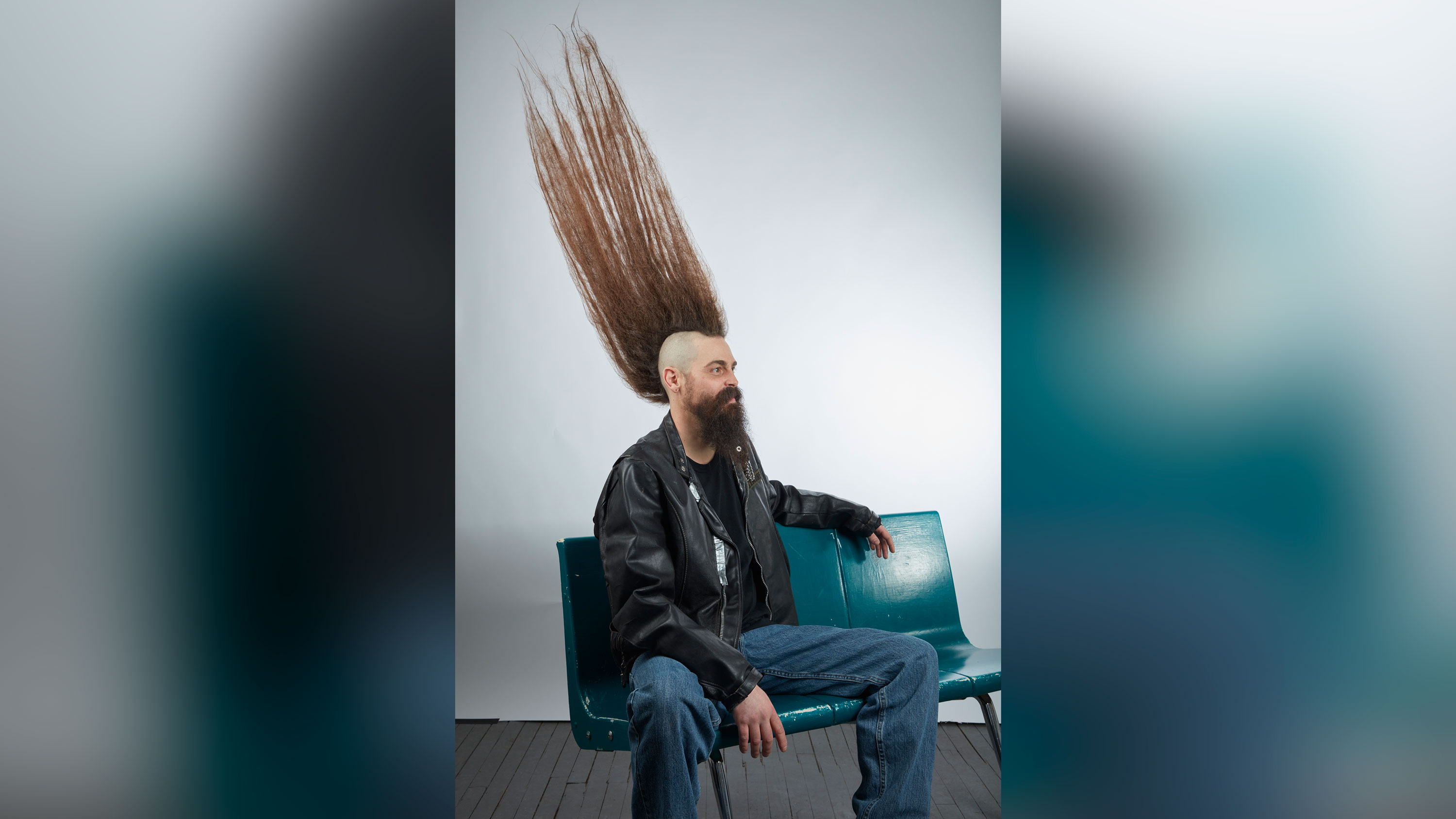 There is a new world record for tallest mohawk and it's a hair-raising accomplishment