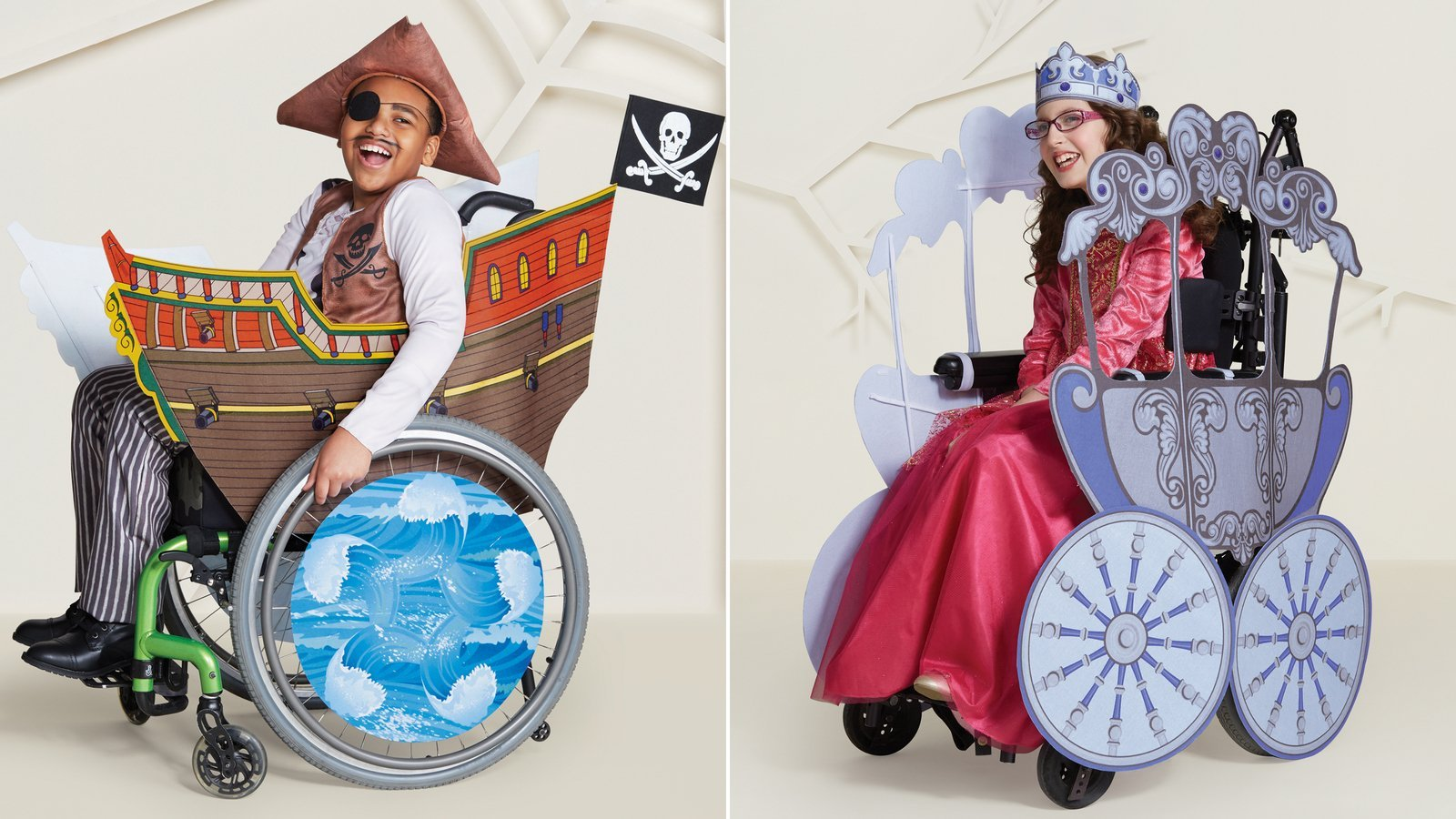 Kids with disabilities can now get special Halloween costumes at Target