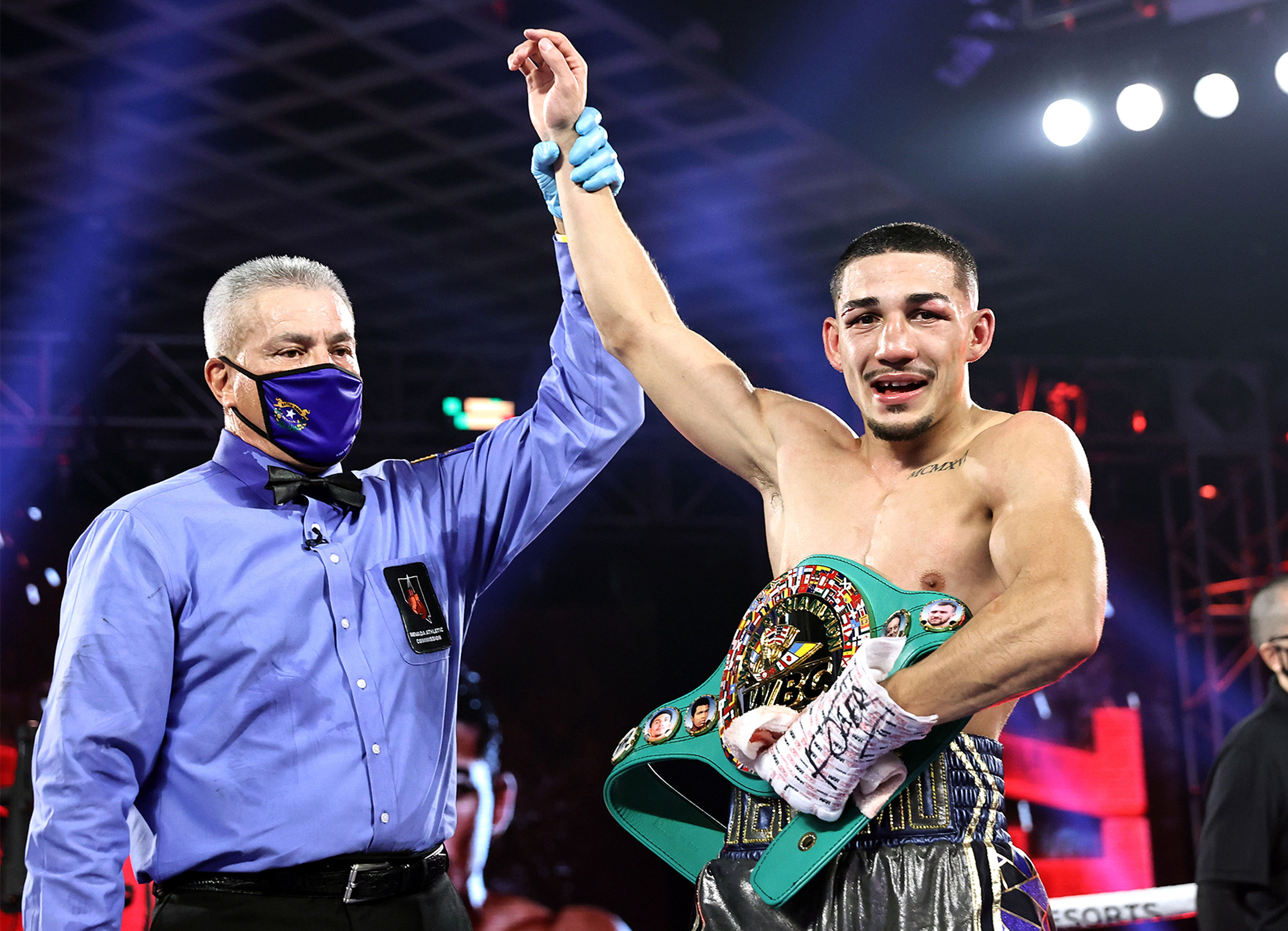Boxer Teófimo López has become the youngest four-belt champion in history