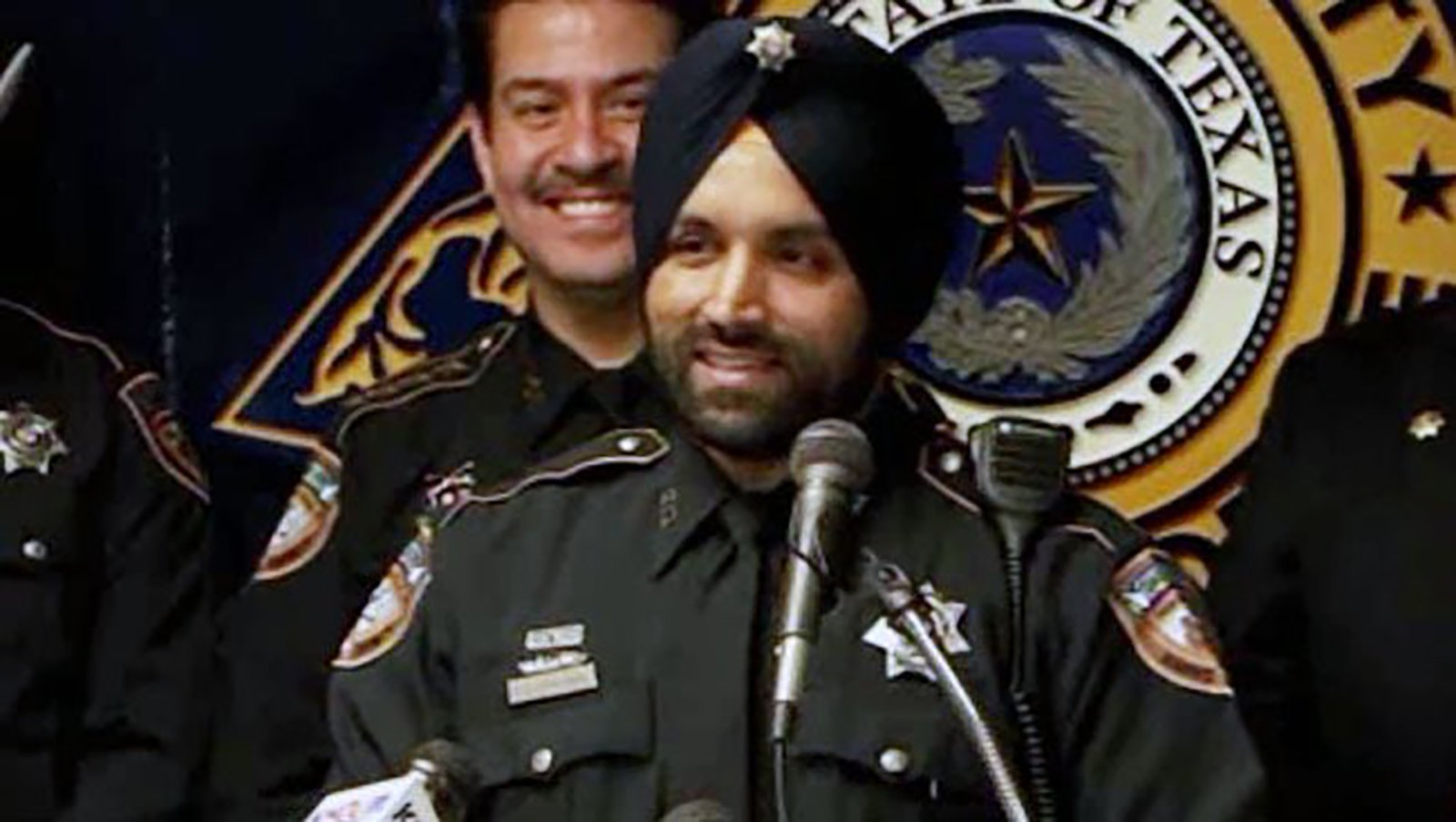 Houston Police Department honors fallen Sikh deputy by allowing officers to serve with their articles of faith