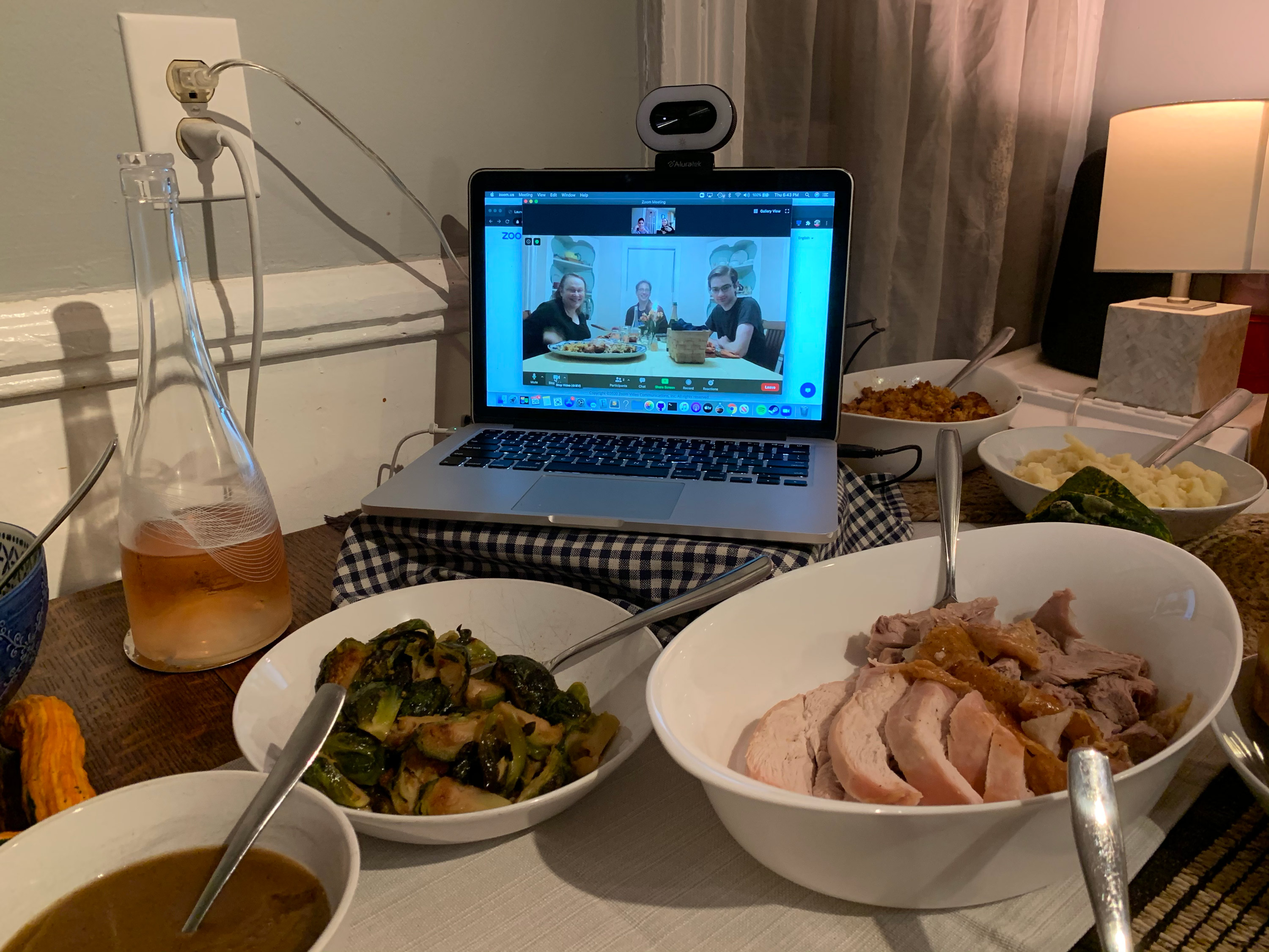 Thanksgiving looked a little different this year. Here's how people adapted across the country