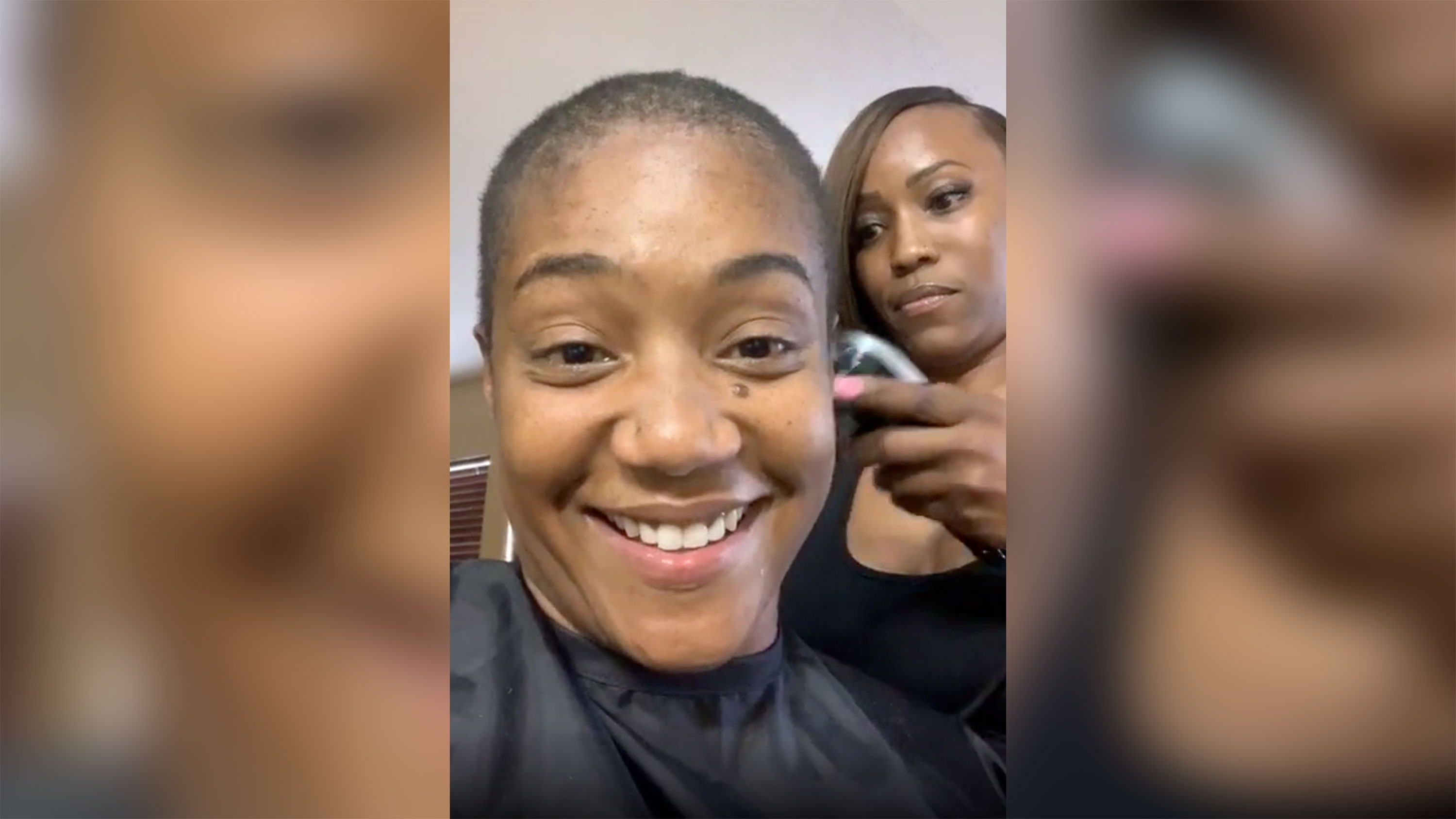 Tiffany Haddish has shaved her head — live on Instagram