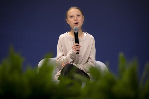 Image for Time Person of the Year: Climate crisis activist Greta Thunberg