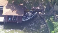 A 3-year-old was found alone and adrift in a boat in Texas. A man's body was recovered nearby