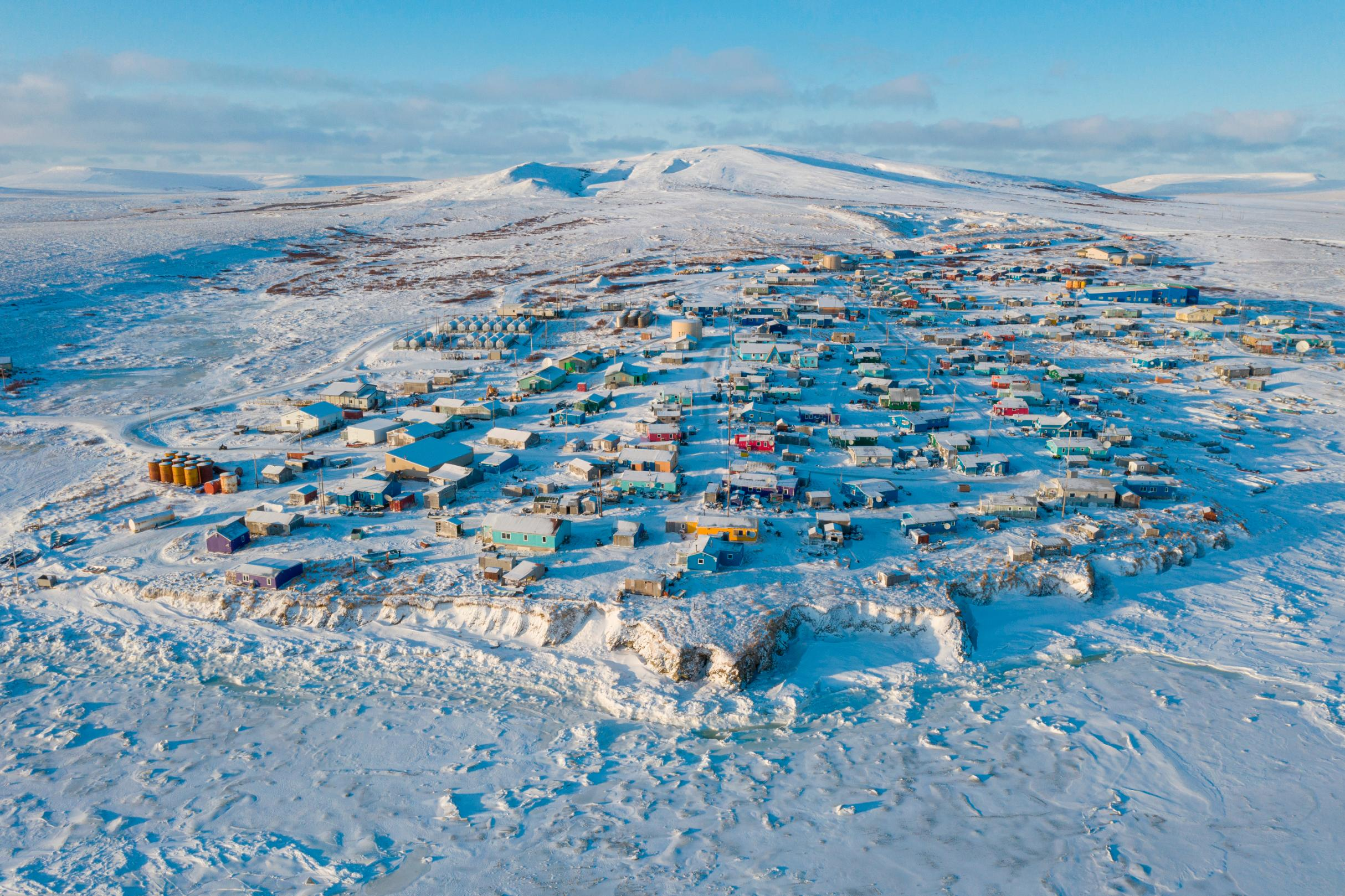 Why the census is starting months early in this remote Alaskan fishing village