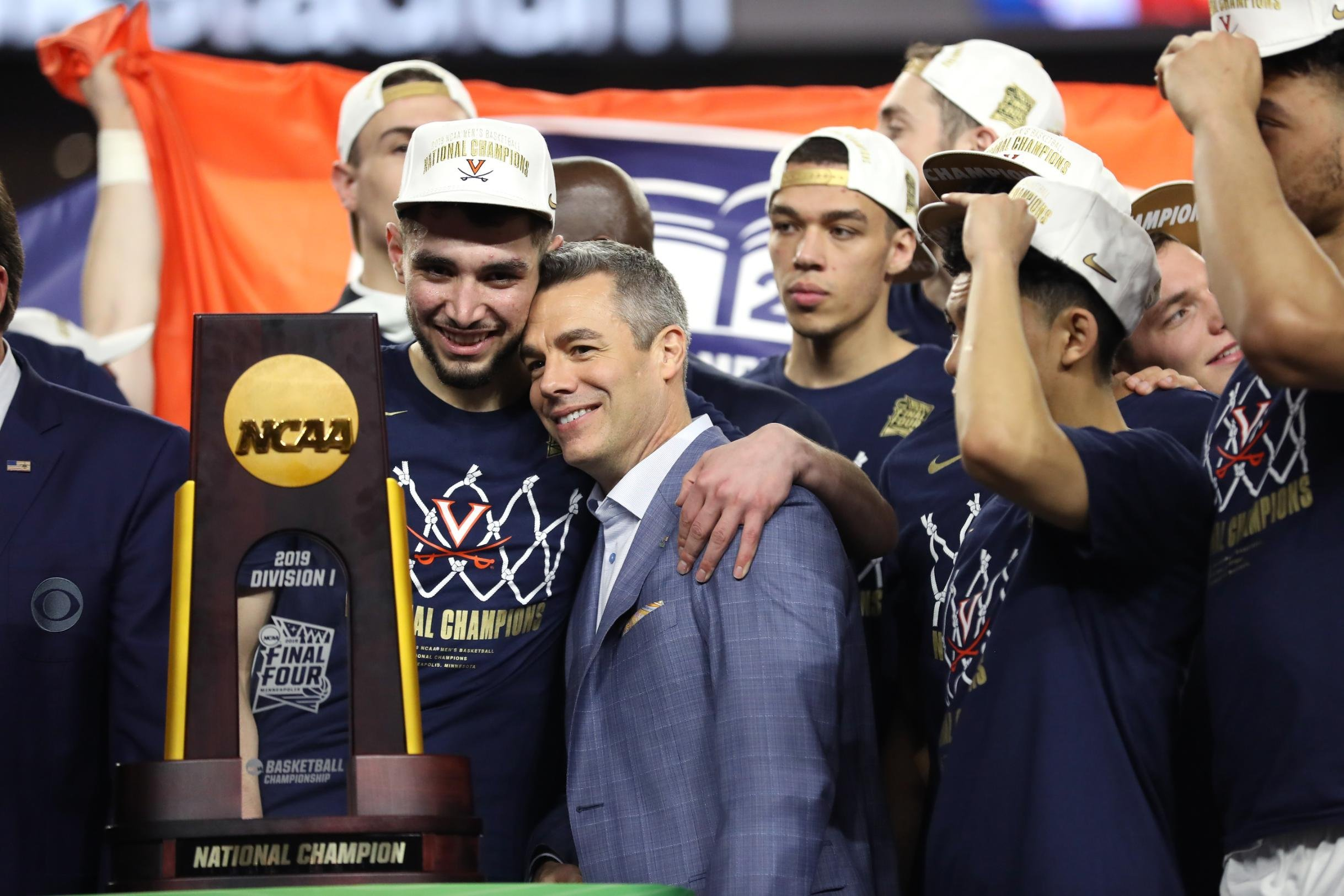 Virginia's basketball coach was offered a big raise after winning the championship. He turned it down so others could get the money
