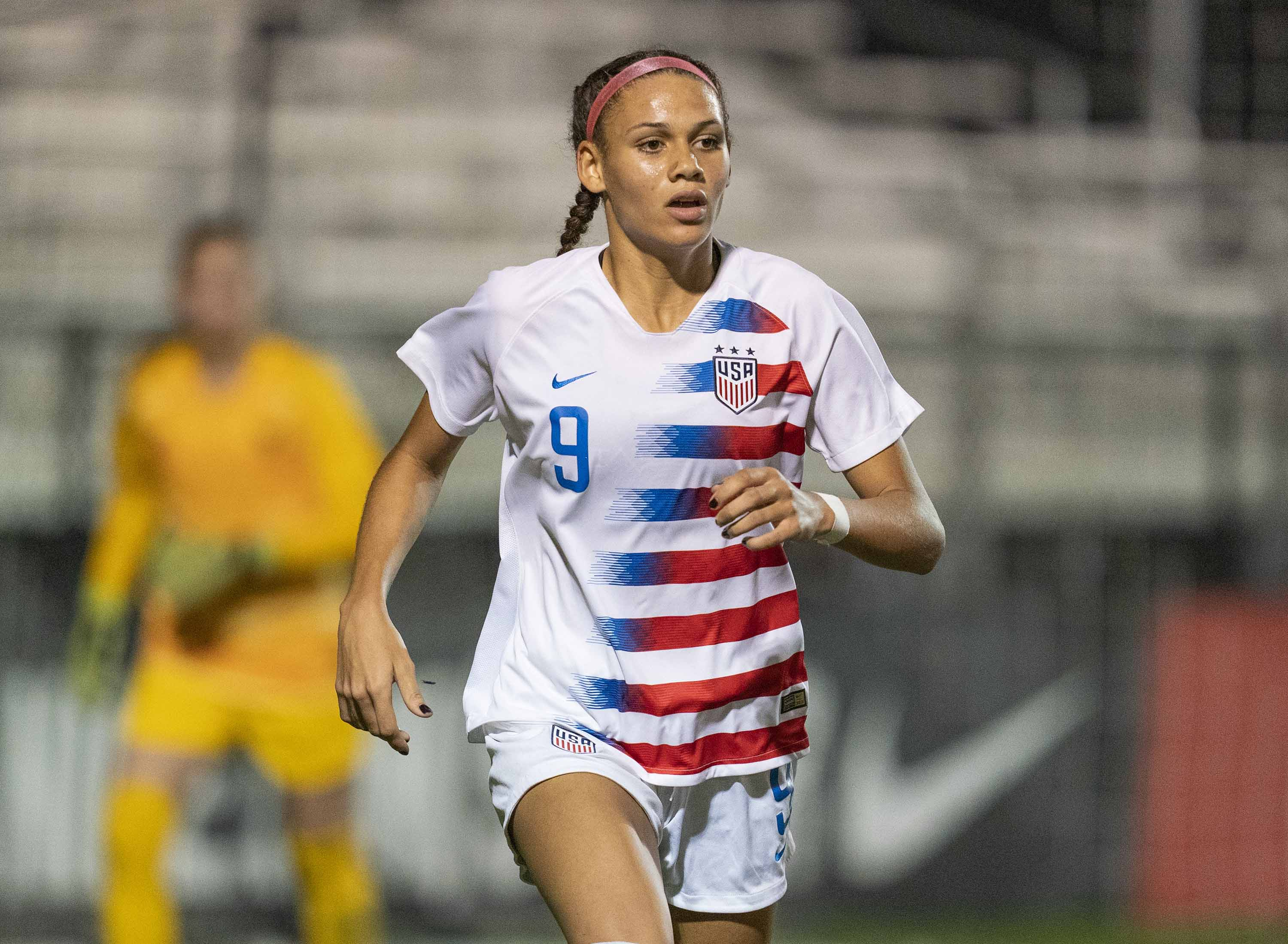 Trinity Rodman, daughter of the NBA legend, drafted 2nd overall in pro soccer league