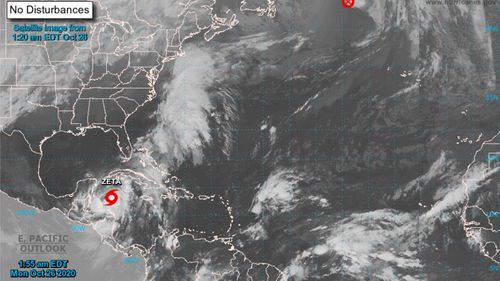 Image for Hurricane Zeta: Louisiana governor declares state of emergency ahead of storm