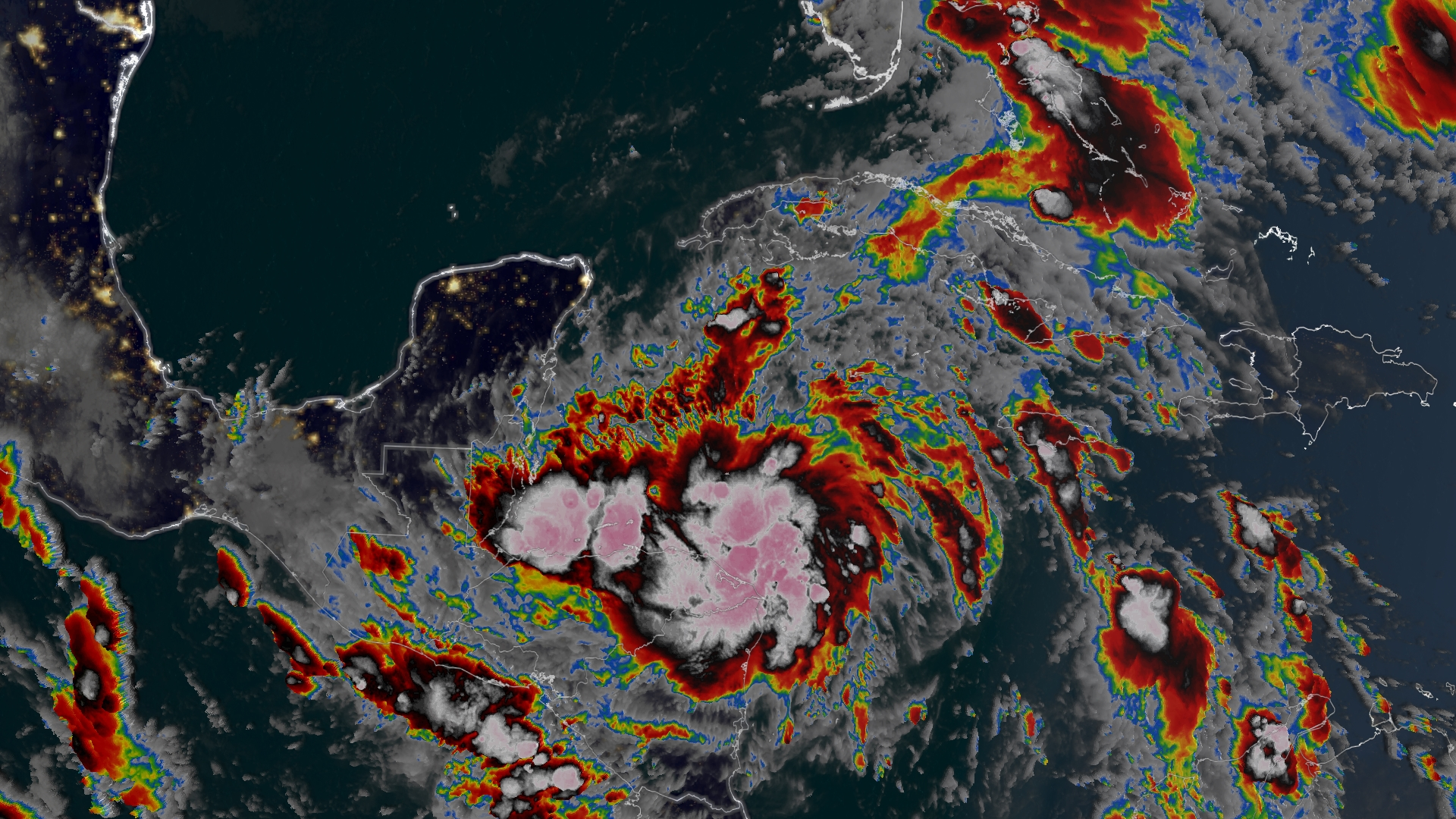 Tropical storm Zeta forms, could reach US Gulf Coast by midweek