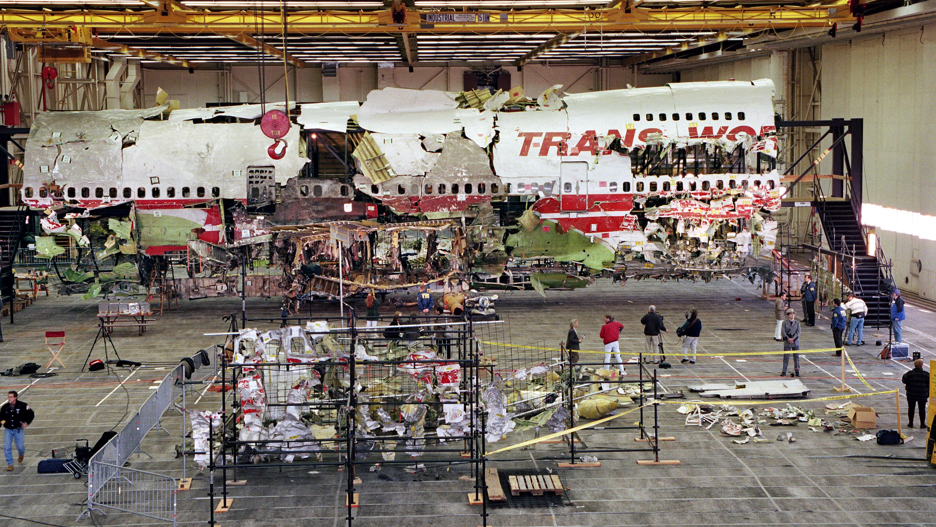 Wreckage from TWA Flight 800 to be destroyed years after explosion