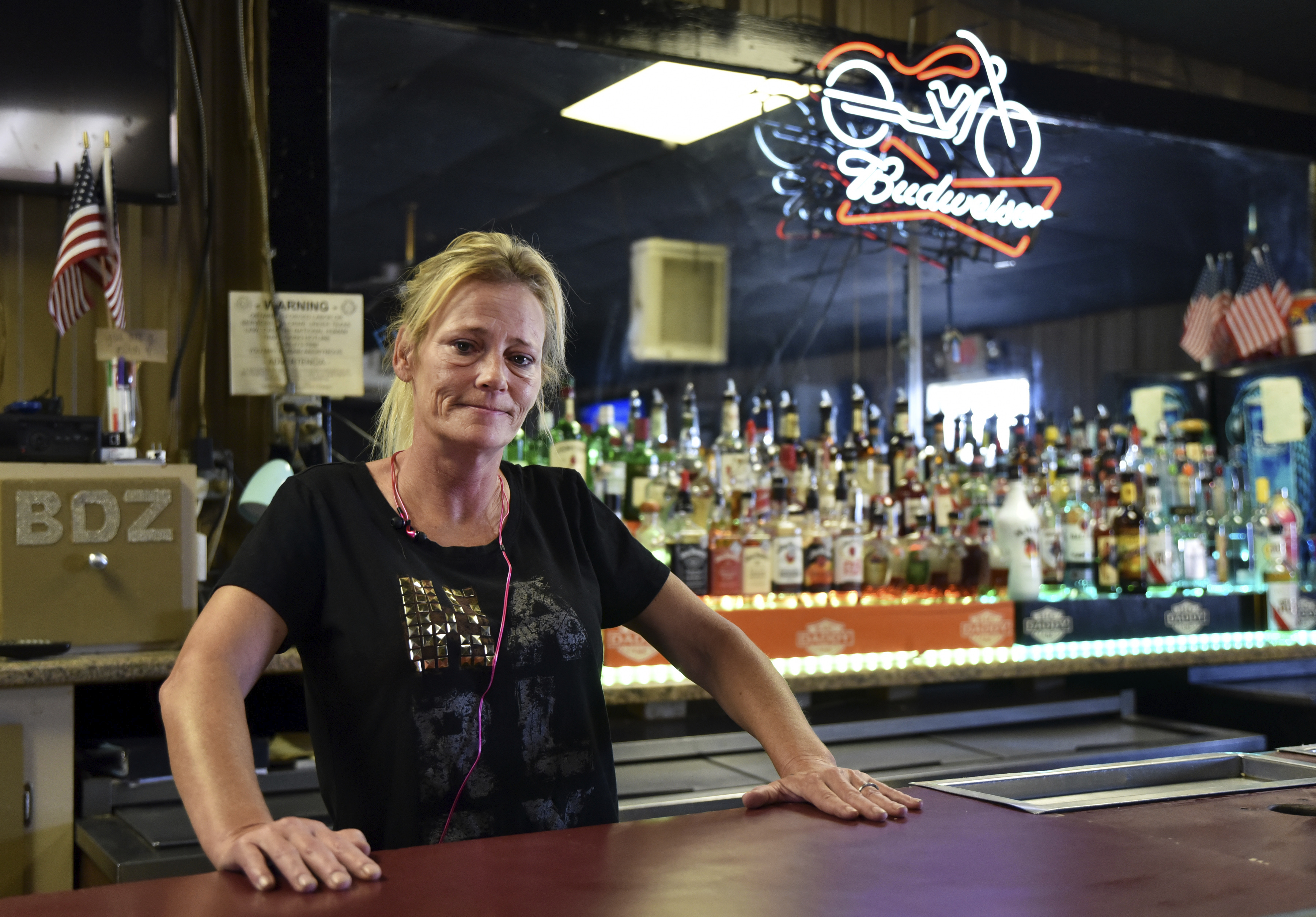 A Texas bar owner is fighting the state's shutdown: 'We are going to starve,' she says