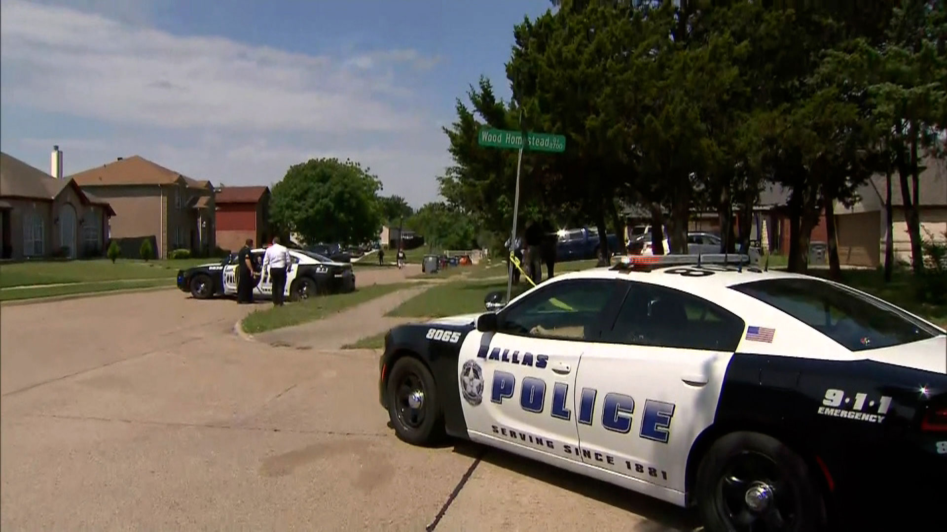 A 4-year-old boy was found on a street 'murdered in a violent act,' Dallas police say