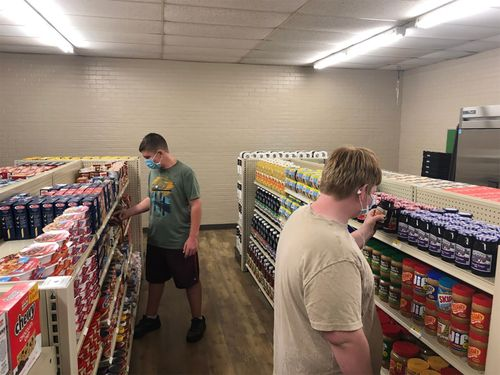 Image for A high school in Texas opened a grocery store for struggling families where good deeds are accepted as payment