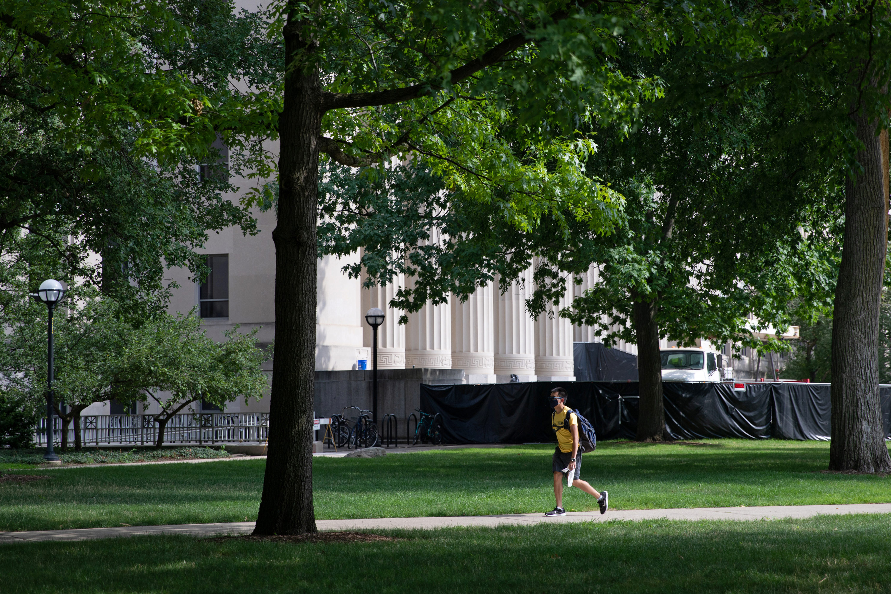 University of Michigan students given immediate stay-at-home order amid a spike in Covid-19 cases