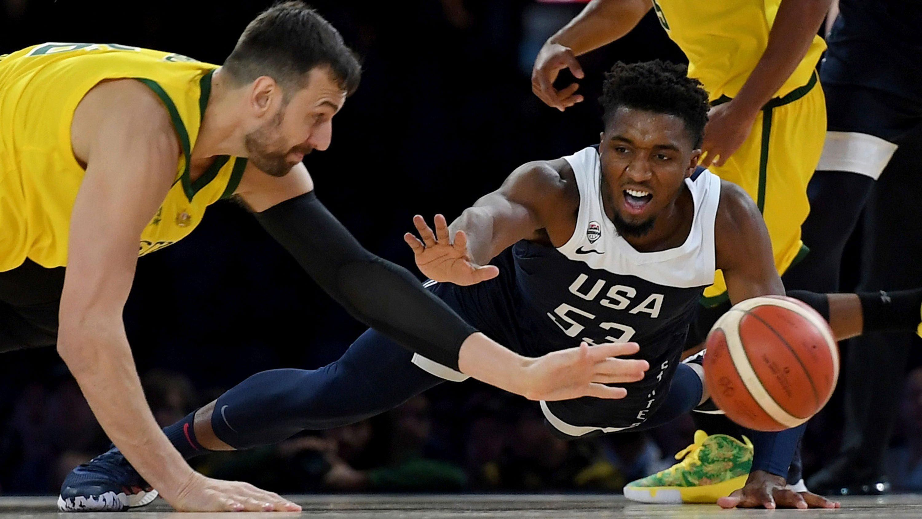 US men's basketball team loses its first game in nearly 13 years to Australia