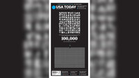 USA Today front page honors the Americans who have died from coronavirus