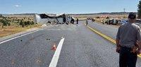 At least 4 killed in tour bus crash in Utah